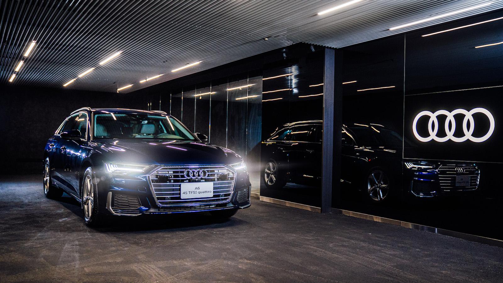 Audi 都市概念展間試營運開跑 年底前多項限量好禮