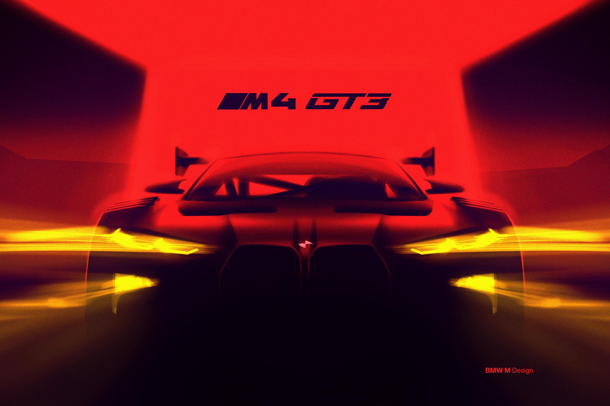 新世代 M4 已確定將會推出 GT3 規格的工廠賽車。