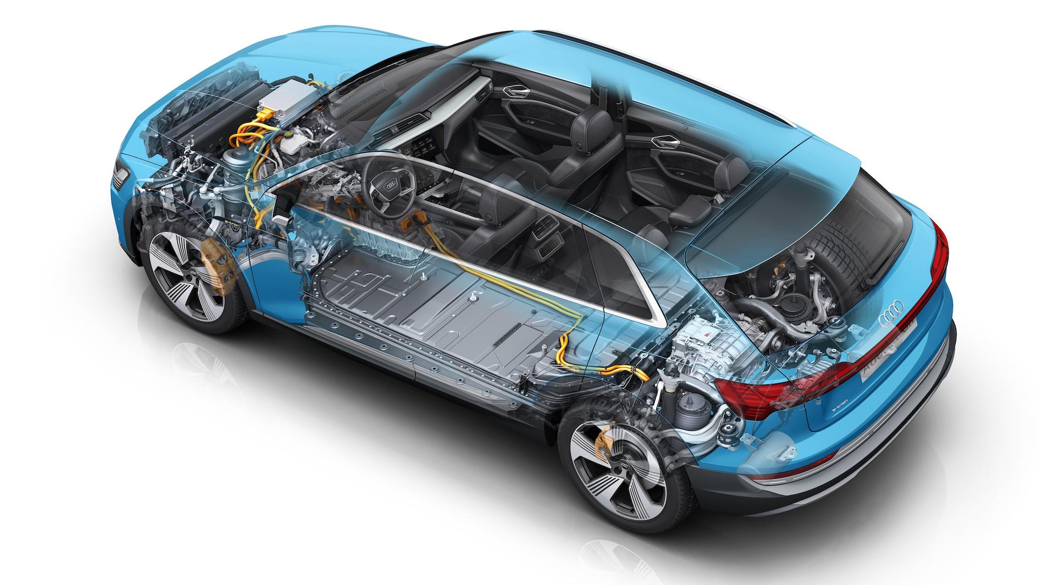 【影】四分鐘搞懂 Audi e-tron 充電與熱能管理系統