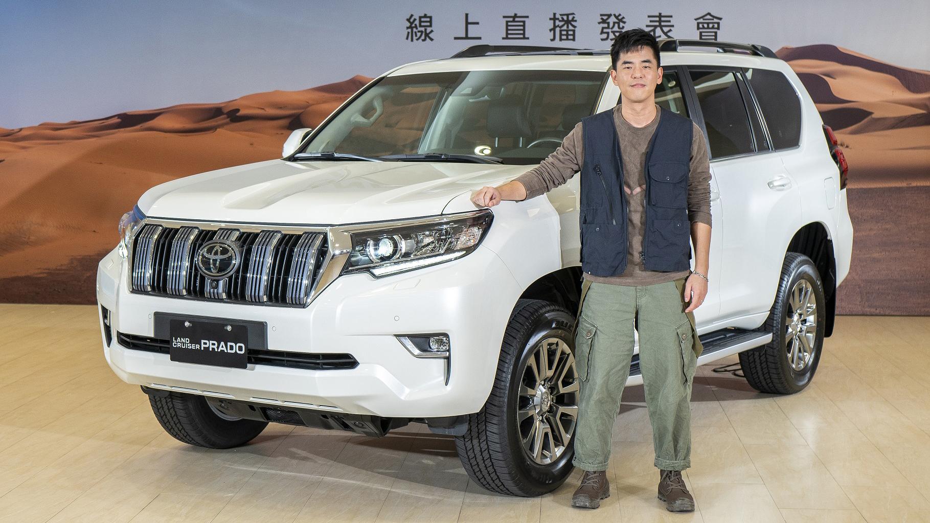 七人座越野休旅 Toyota Land Cruiser Prado 239 萬起正式登台