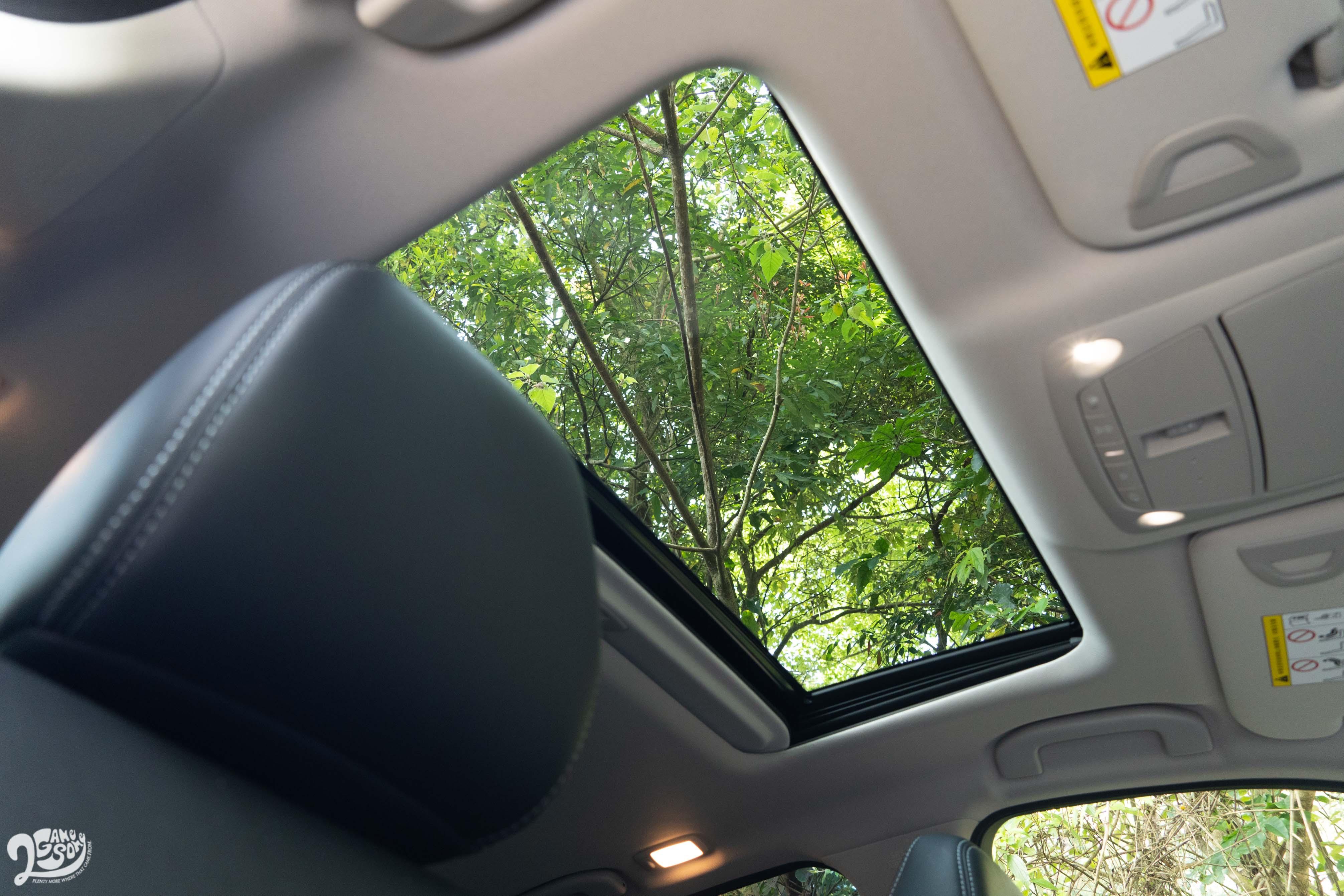 天窗全車系標配。