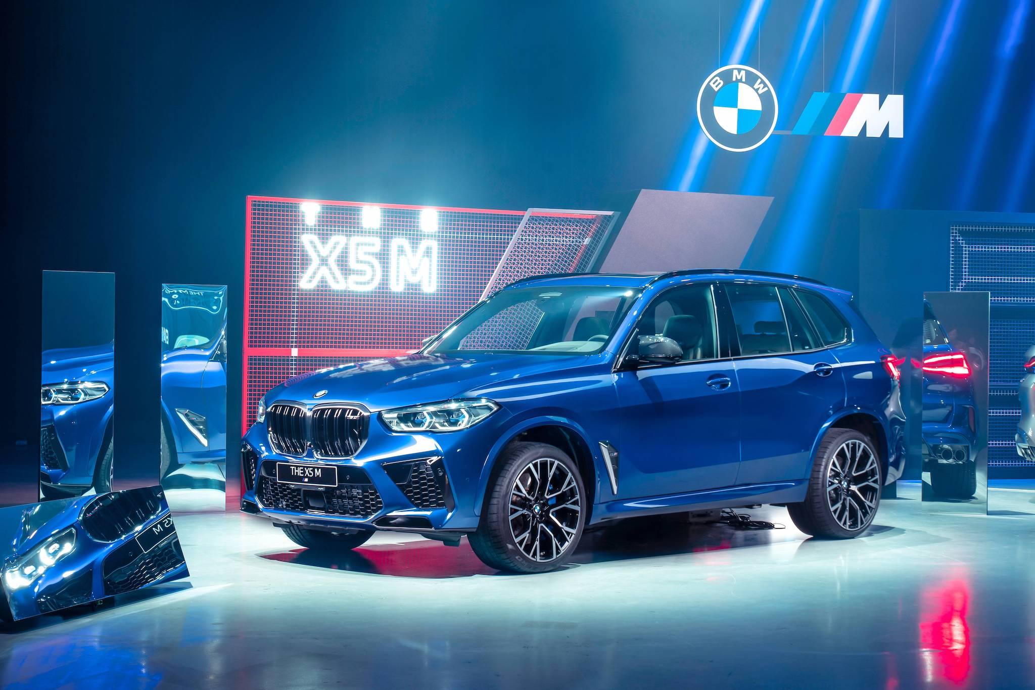 ▲ 全新 BMW X5 M 馬力達 600 匹大關,688 萬起正式登場