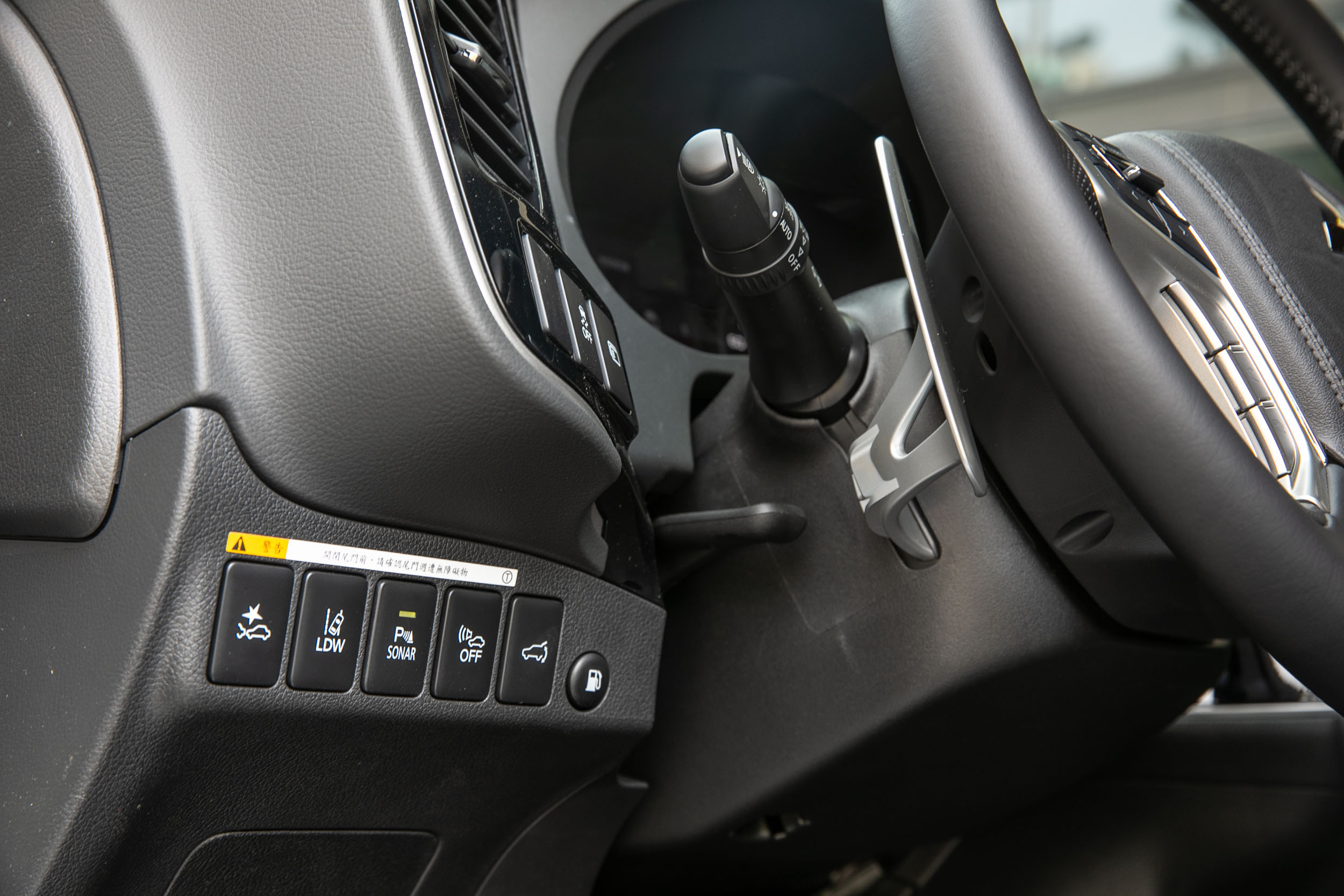 配備包含ACC全速域主動車距控制巡航系統、FCM主動式智慧煞車輔助系統、BSW盲點偵測警示系統、RCTA後方交通警示系統、LDW車道偏移警示系統等 ADAS 安全配備。