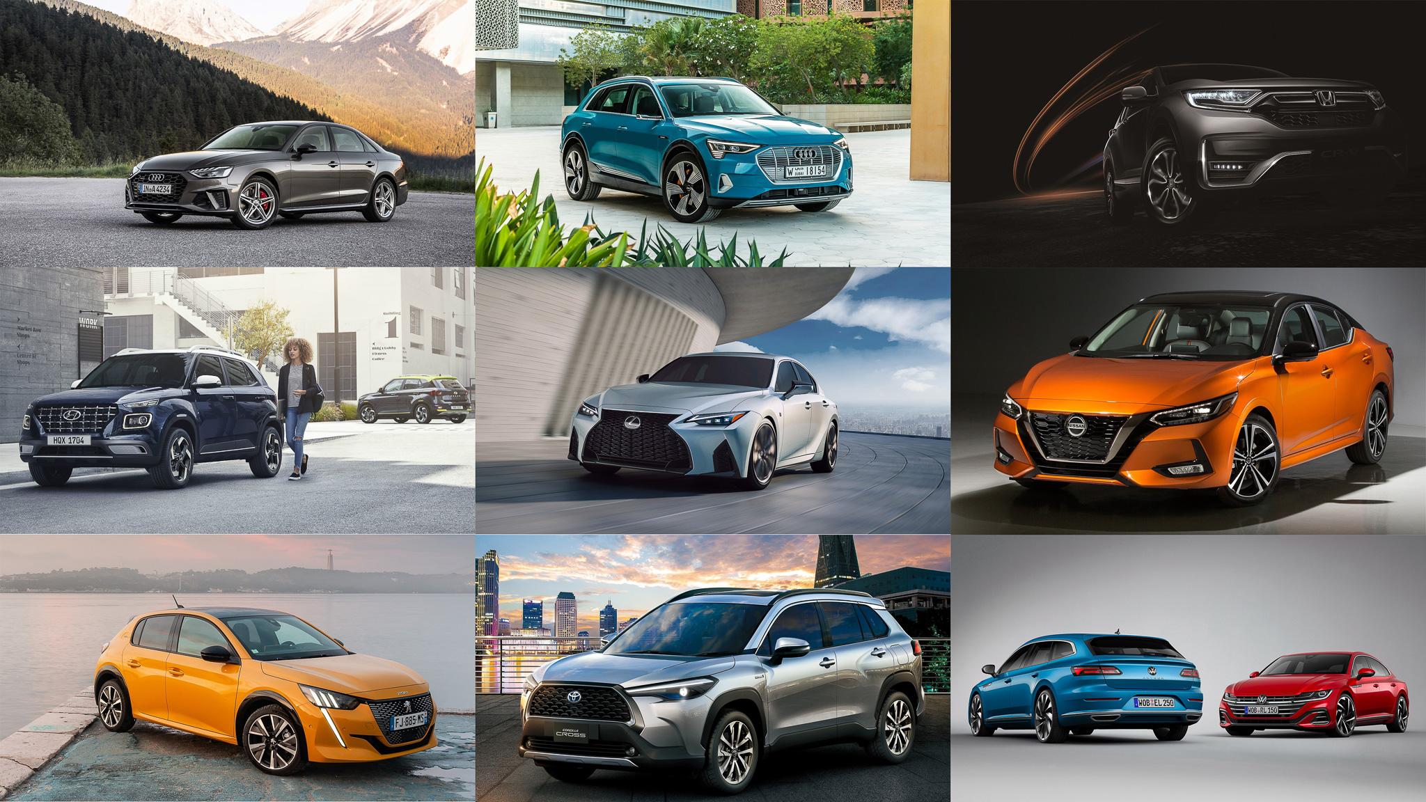 ▲ 2020 年進入最後 1/3,超多重量級新車準備排隊在台發表囉!
