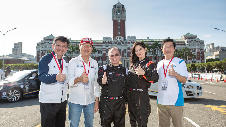 TIGP 台北國際金卡納大獎賽,嘉賓 Janet 也上陣