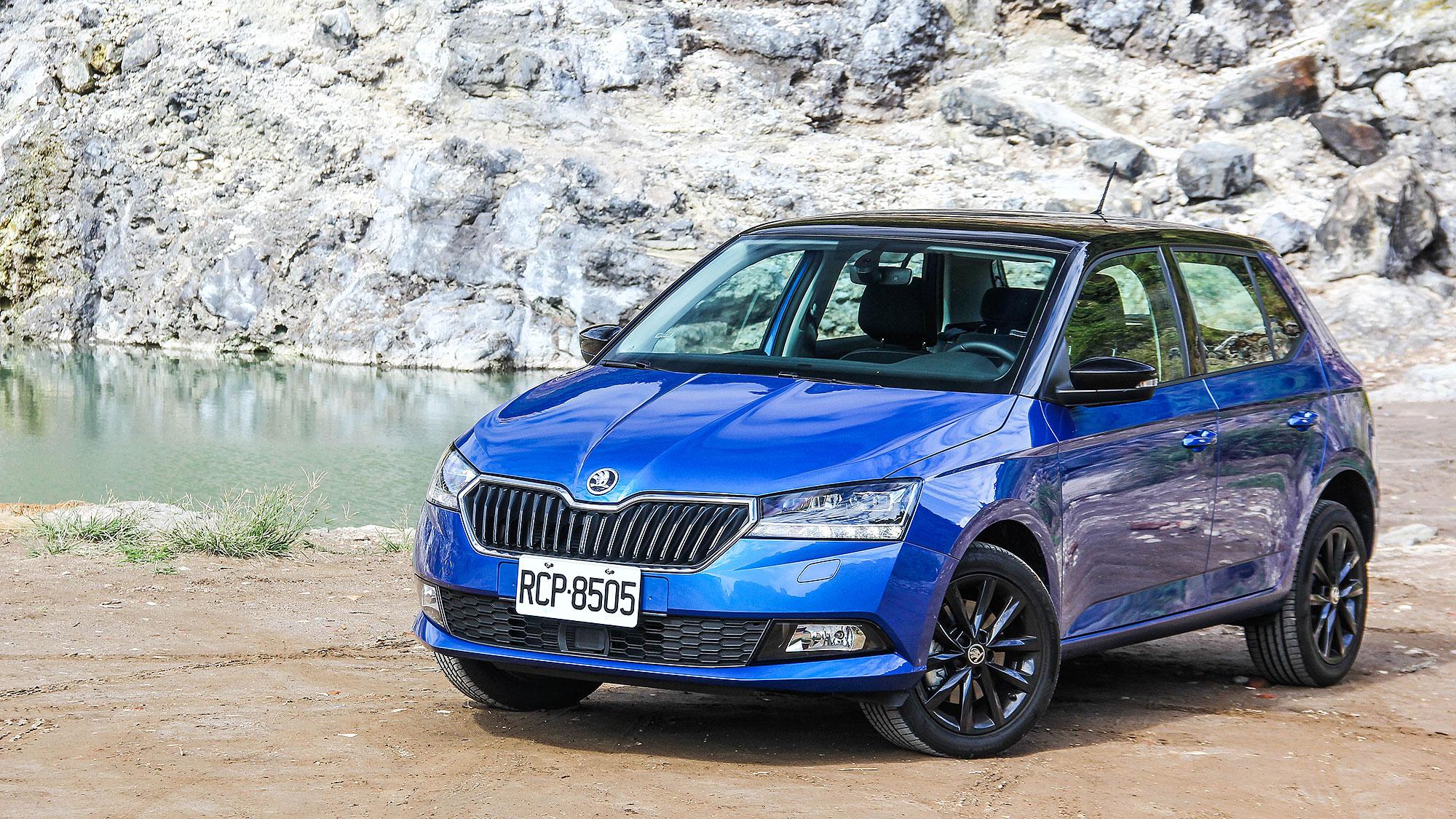 Škoda Fabia 的吸睛良藥,魅力版加雙色套件就對味