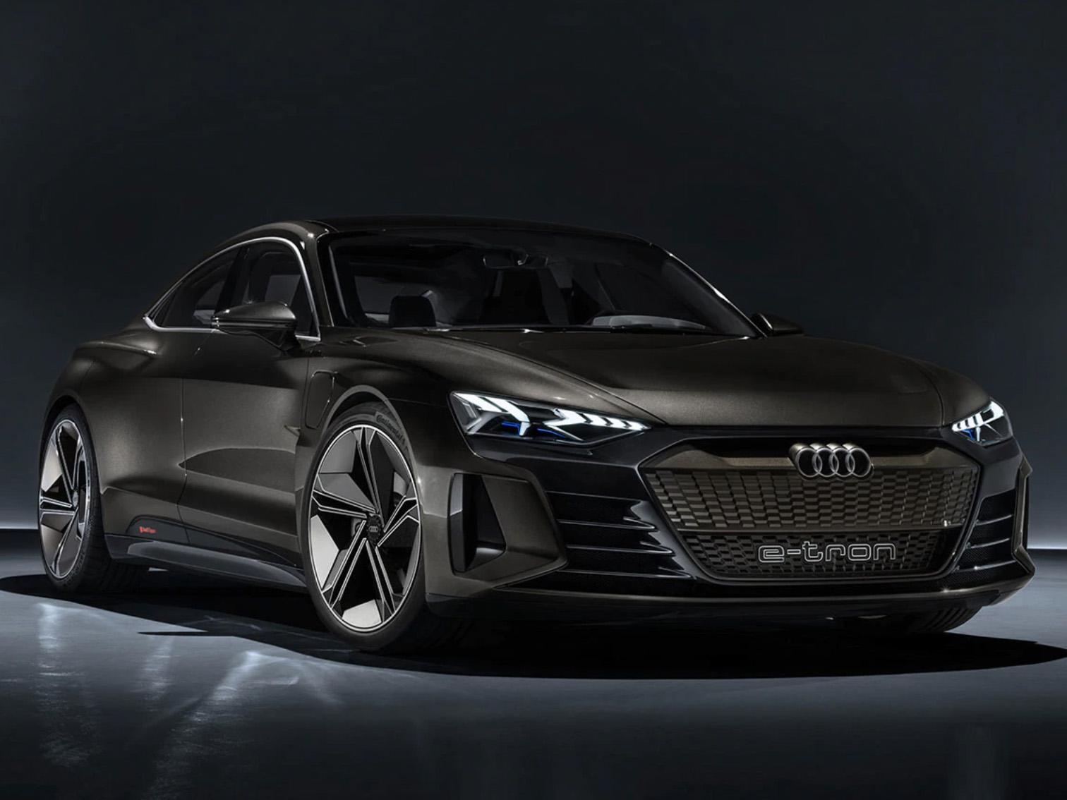Audi e-tron GT Concept,量產預計 2020 年底開始。