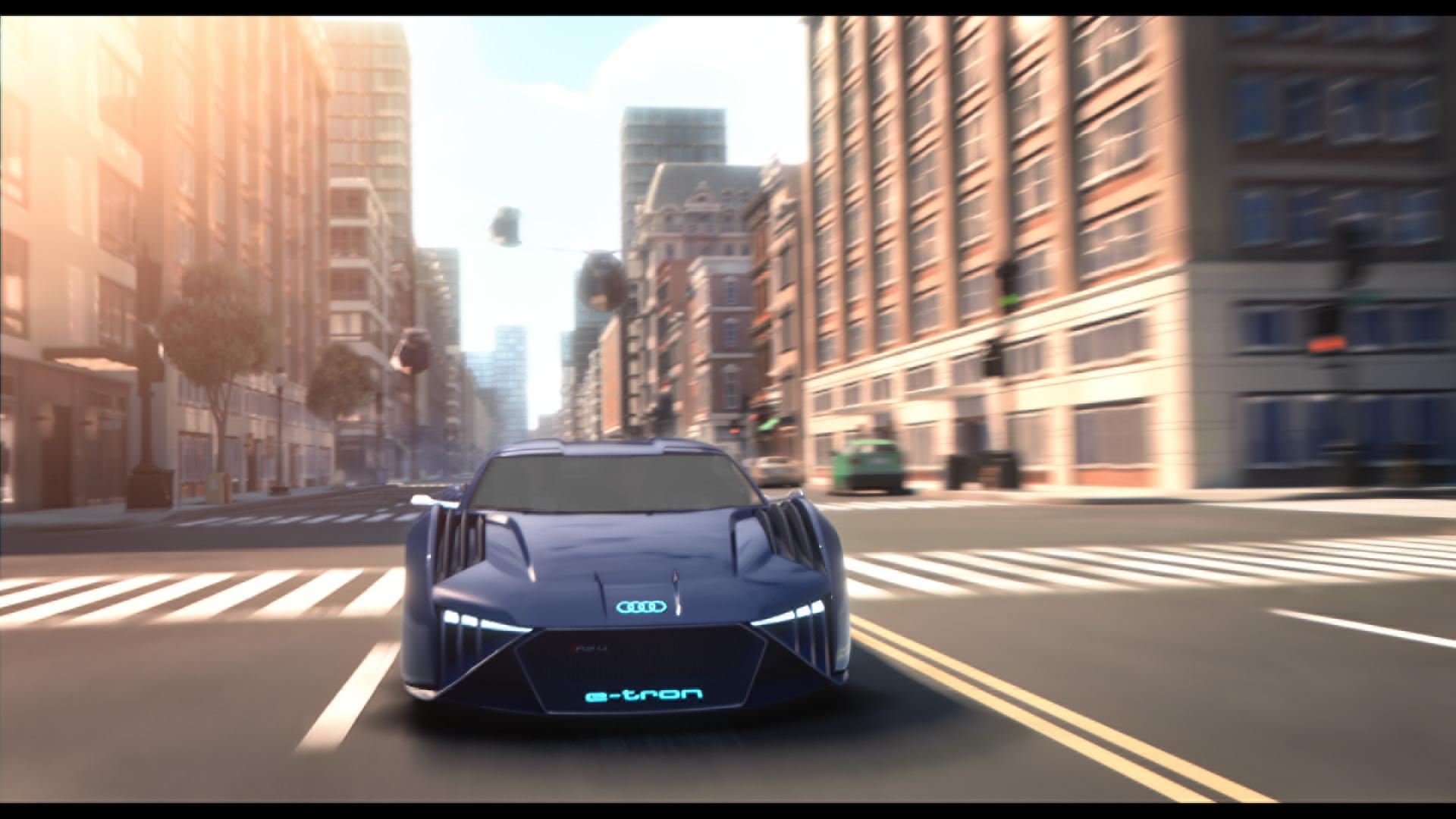 Audi 首款虛擬概念車現身,擔當 Will Smith《變身特務》座駕!