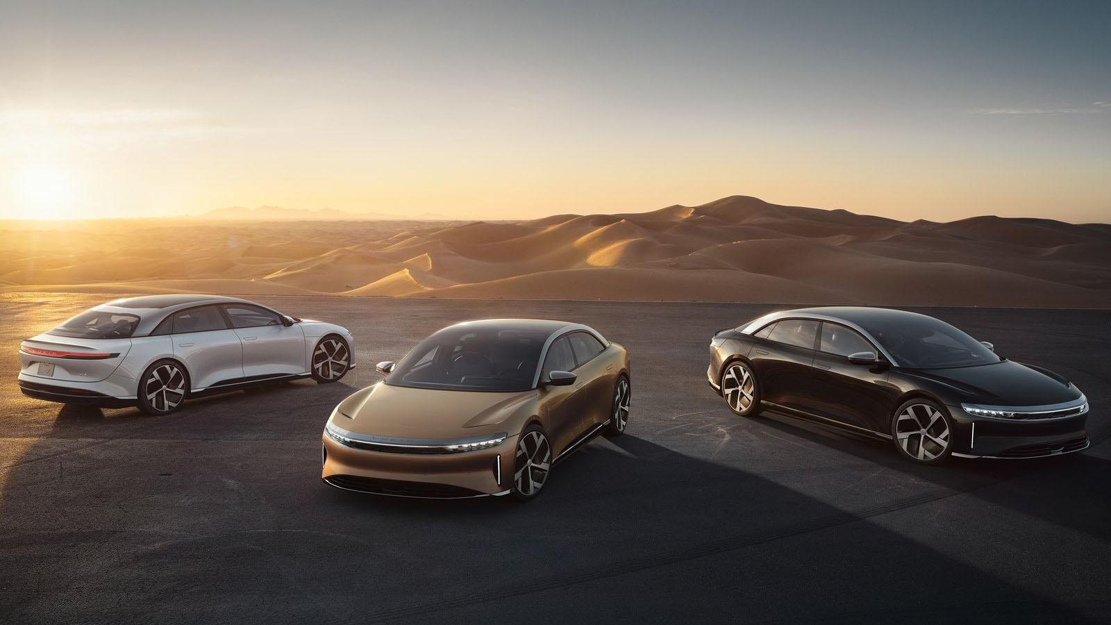 Lucid Motors,貨真價實的 Tesla 殺手?
