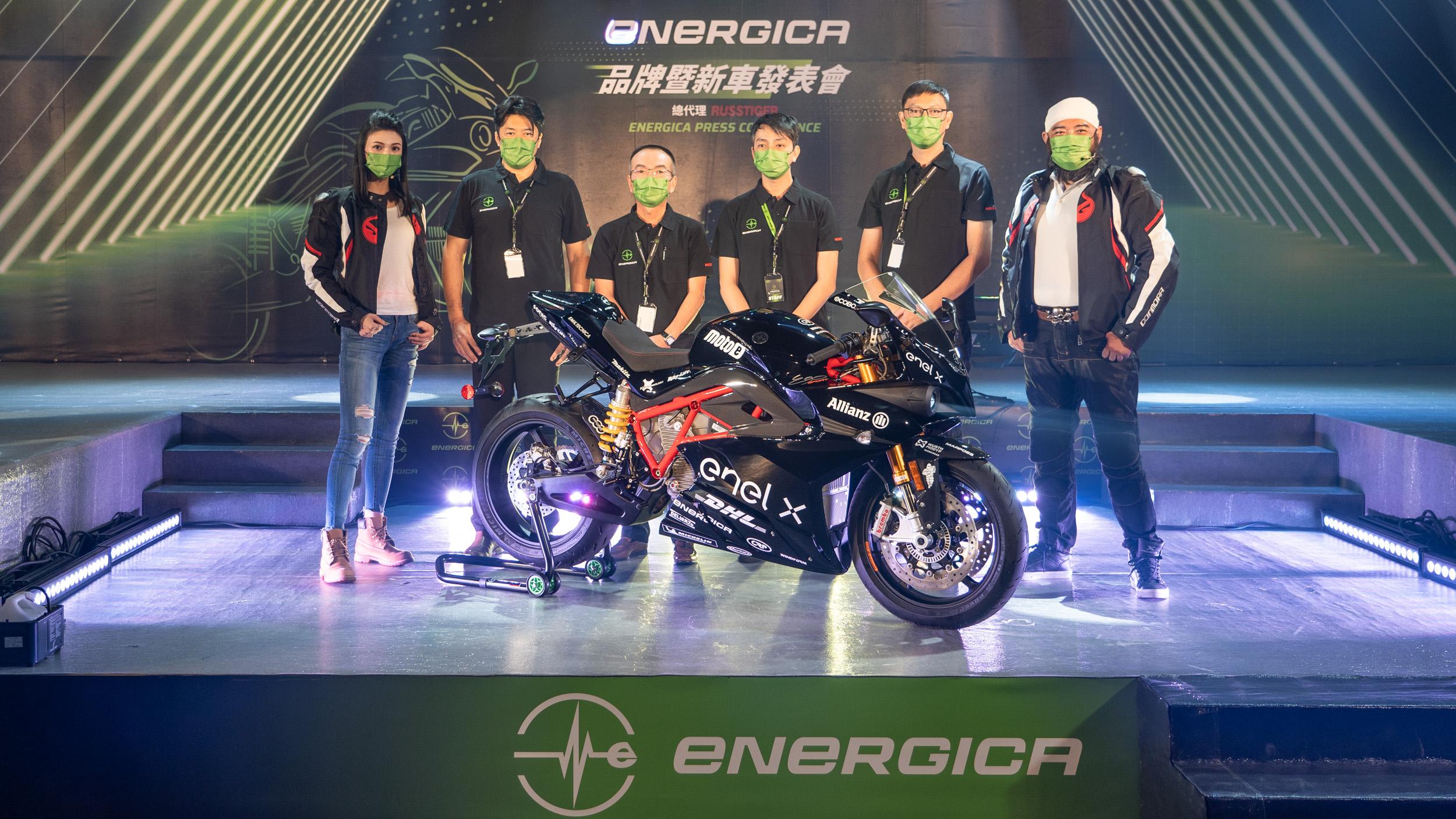 義大利電動重機 Energica 在台上市!三車型同步推出,售價 126.8 萬元起