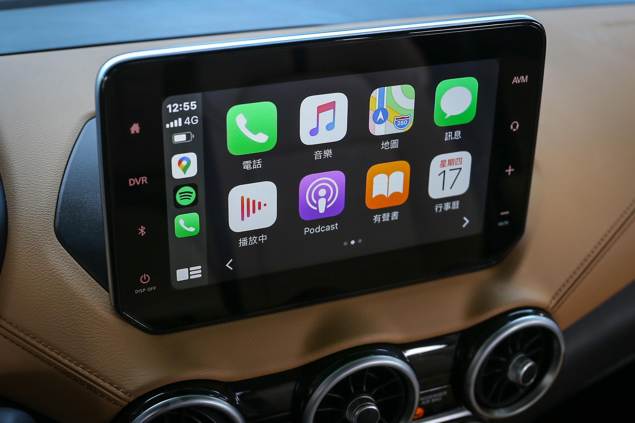 無線 Apple CarPlay是最大亮點,但可惜並無附帶有無線充電功能。