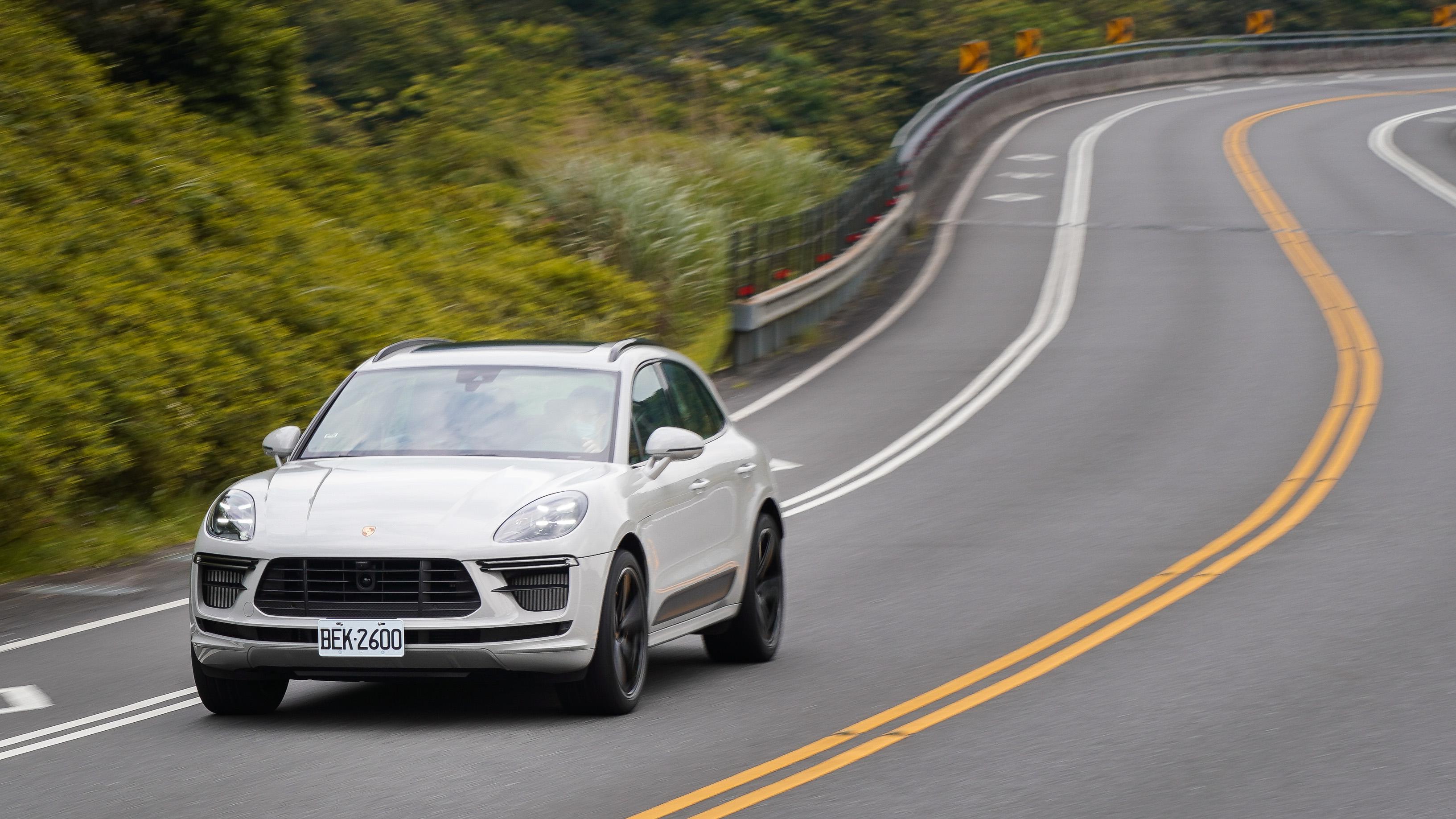 Porsche Macan Turbo 將 Macan 的優異體質最大化。
