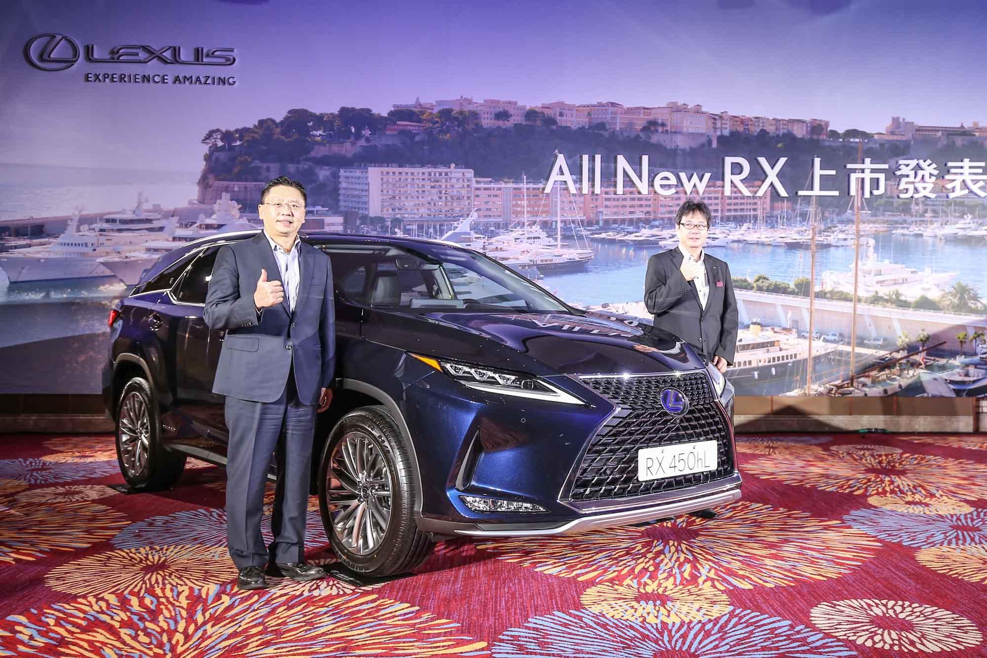 小改款 RX 車系正式發表上市