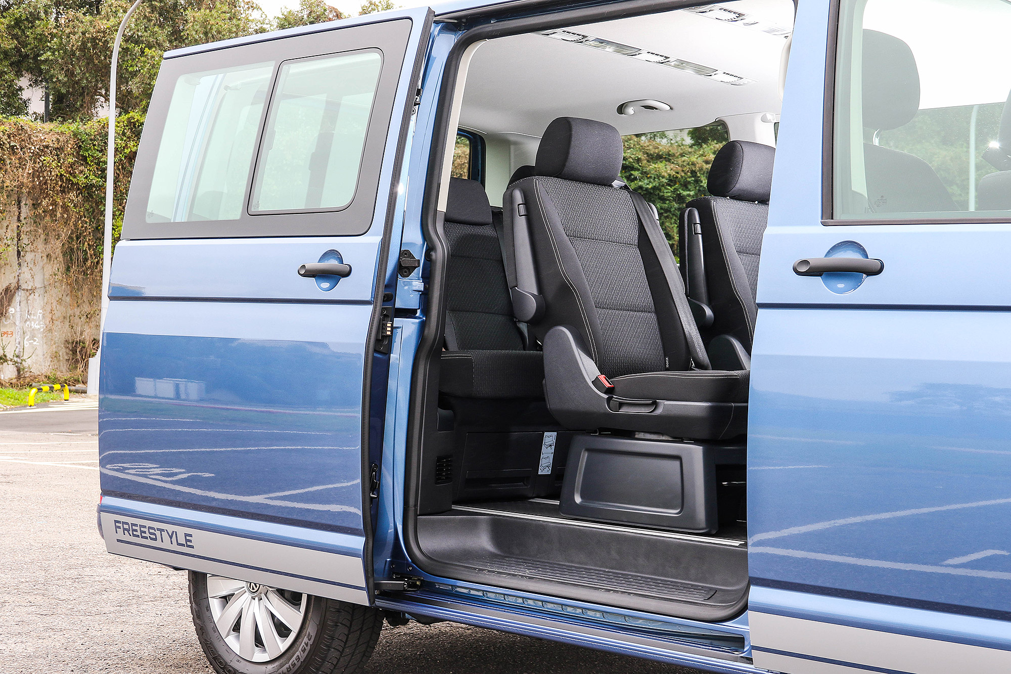 Freestyle 選用了與 Multivan 相同的座椅規劃。