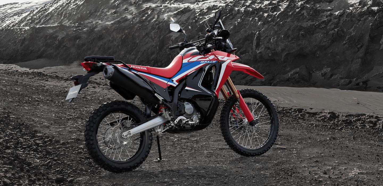 Honda Motorcycle 2021 CRF300 Rally。