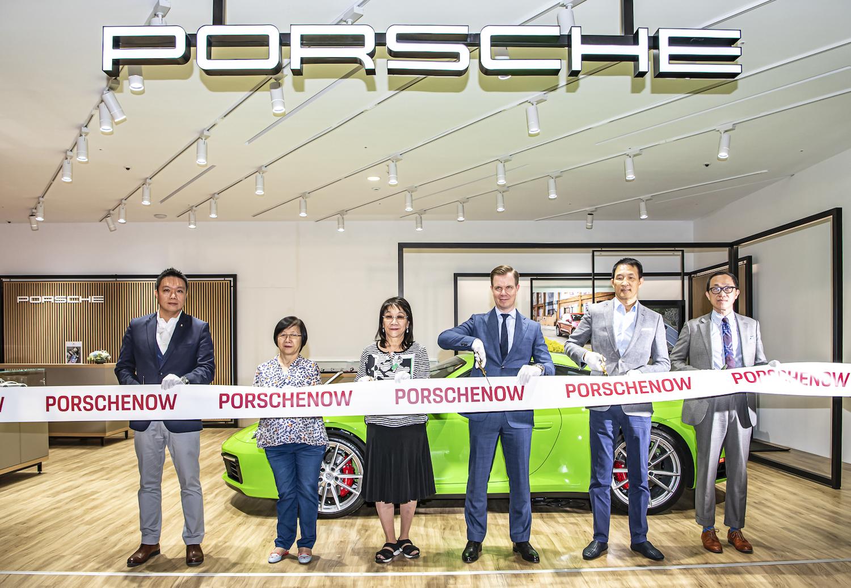 全球首座 Porsche NOW 新型態概念店,正式開幕