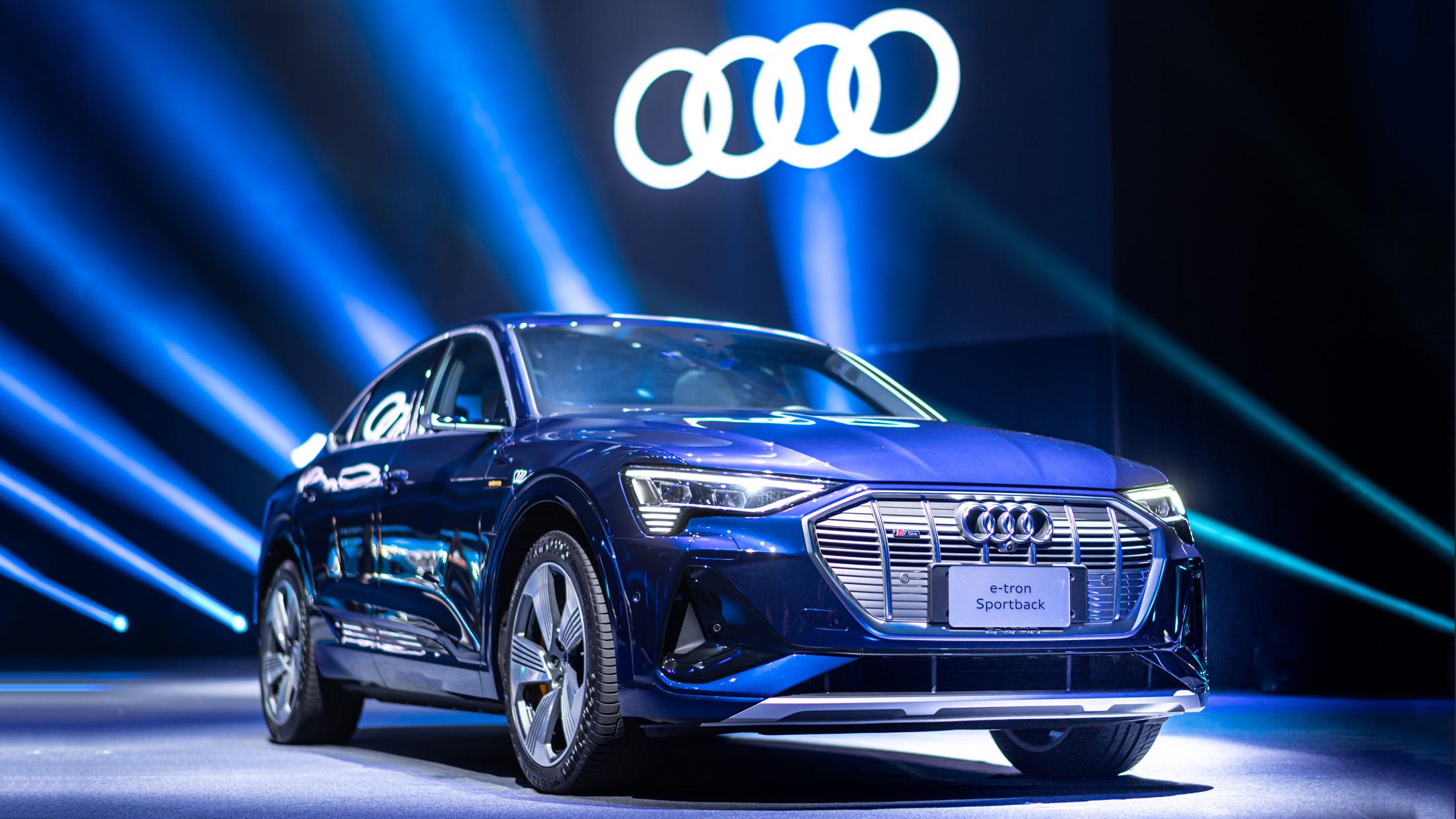 Audi e-tron SUV/Sportback 五車型 304 萬起,純電生活方案同步登場