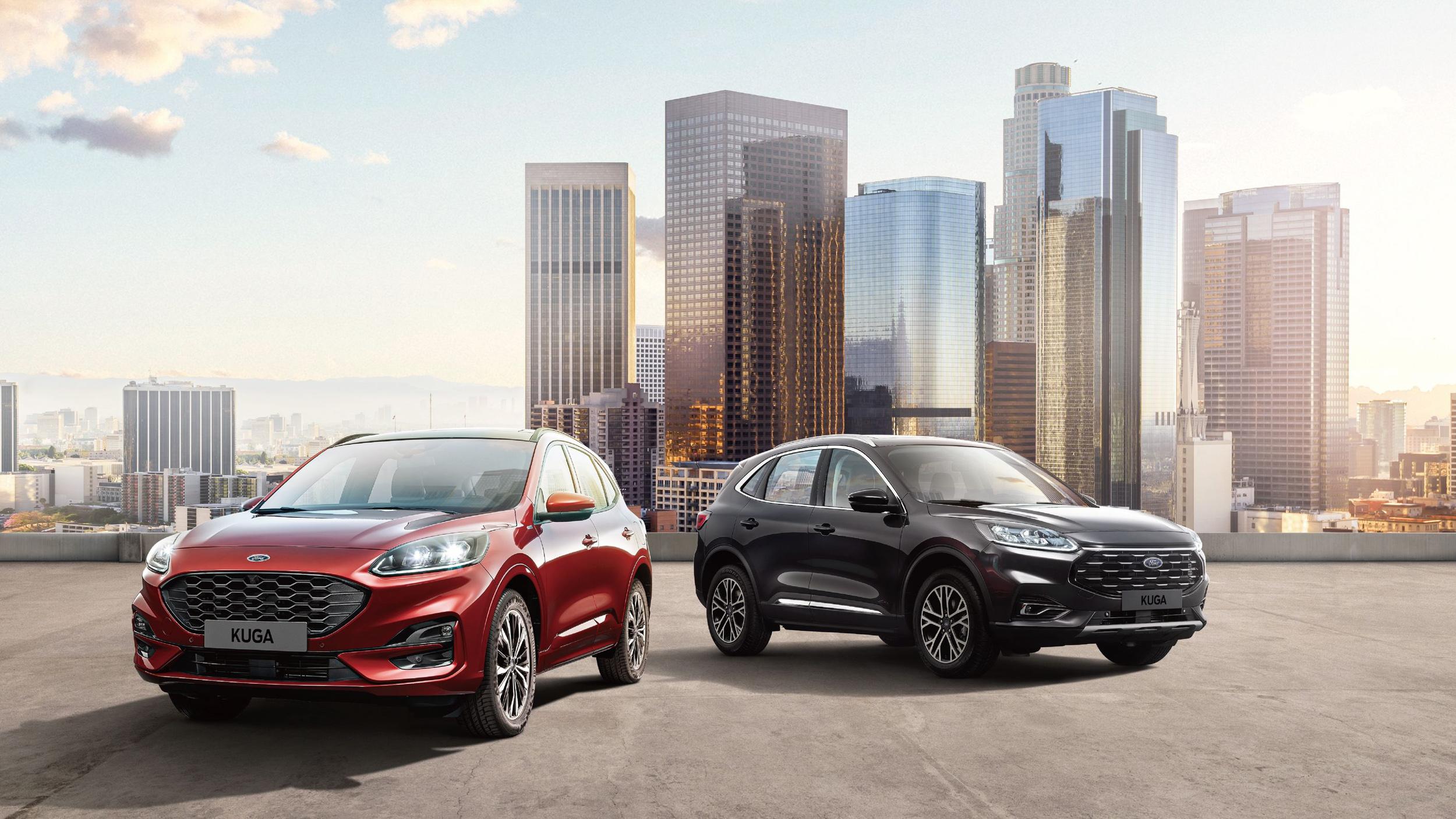 Ford 21.5 年式 Kuga「X」+安全+配備+4 萬登場,防疫價 96.9 萬起!