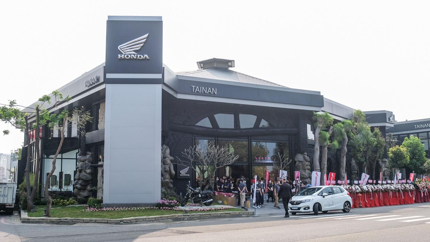 ▲ Honda Motorcycle 全台最大展間 正式進駐台南