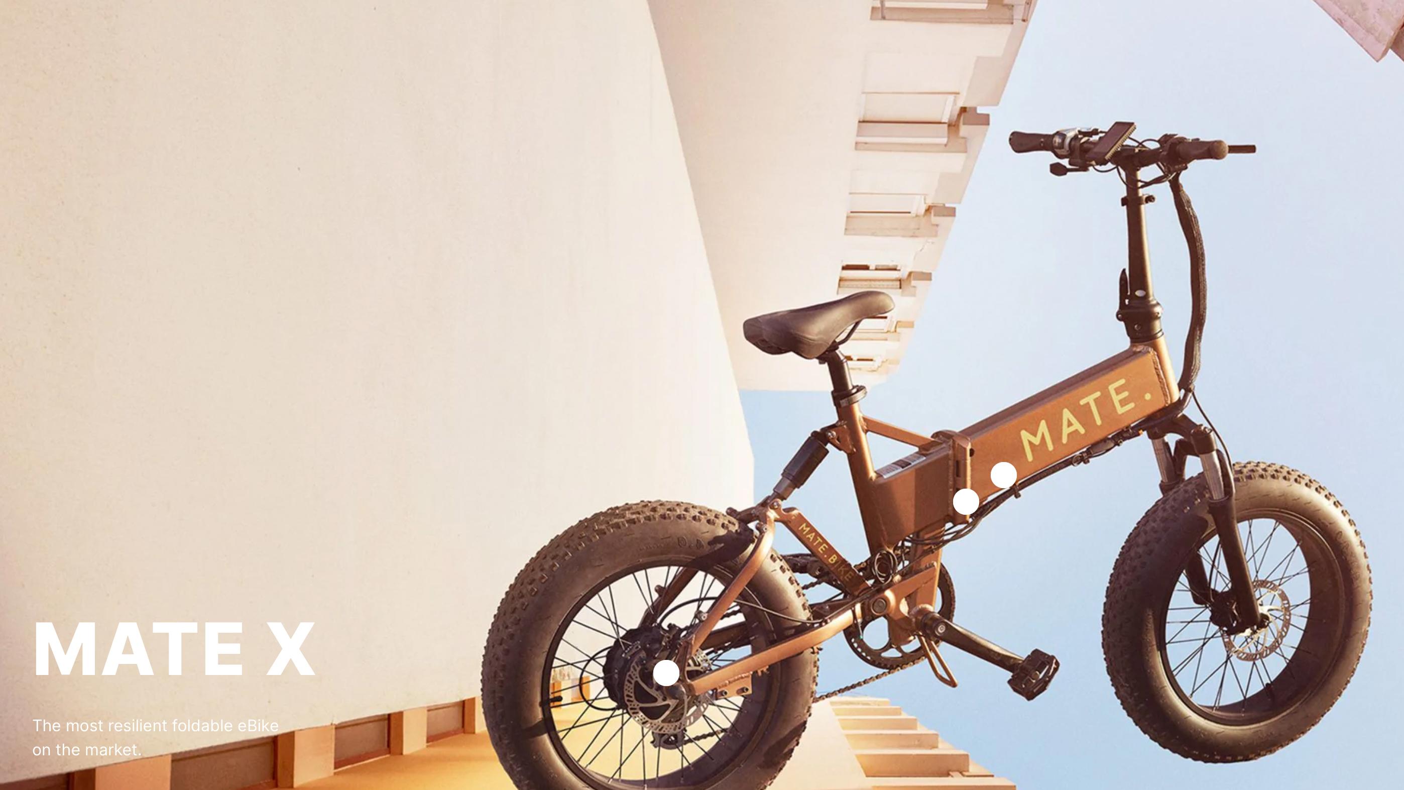 ▲ 三一東林科技正式代理 MATE.BIKE!全球銷售第一「越野型電動摺疊自行車」