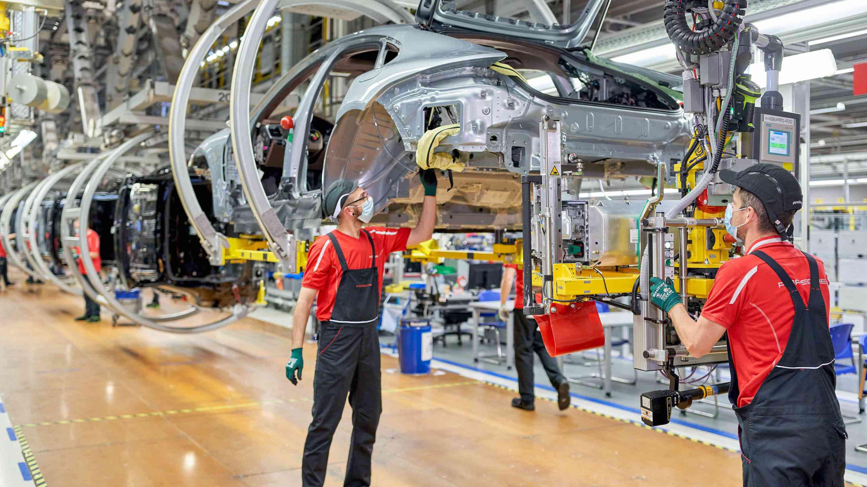 第三代 Porsche Macan 將有純電版本,車體工廠已完工!