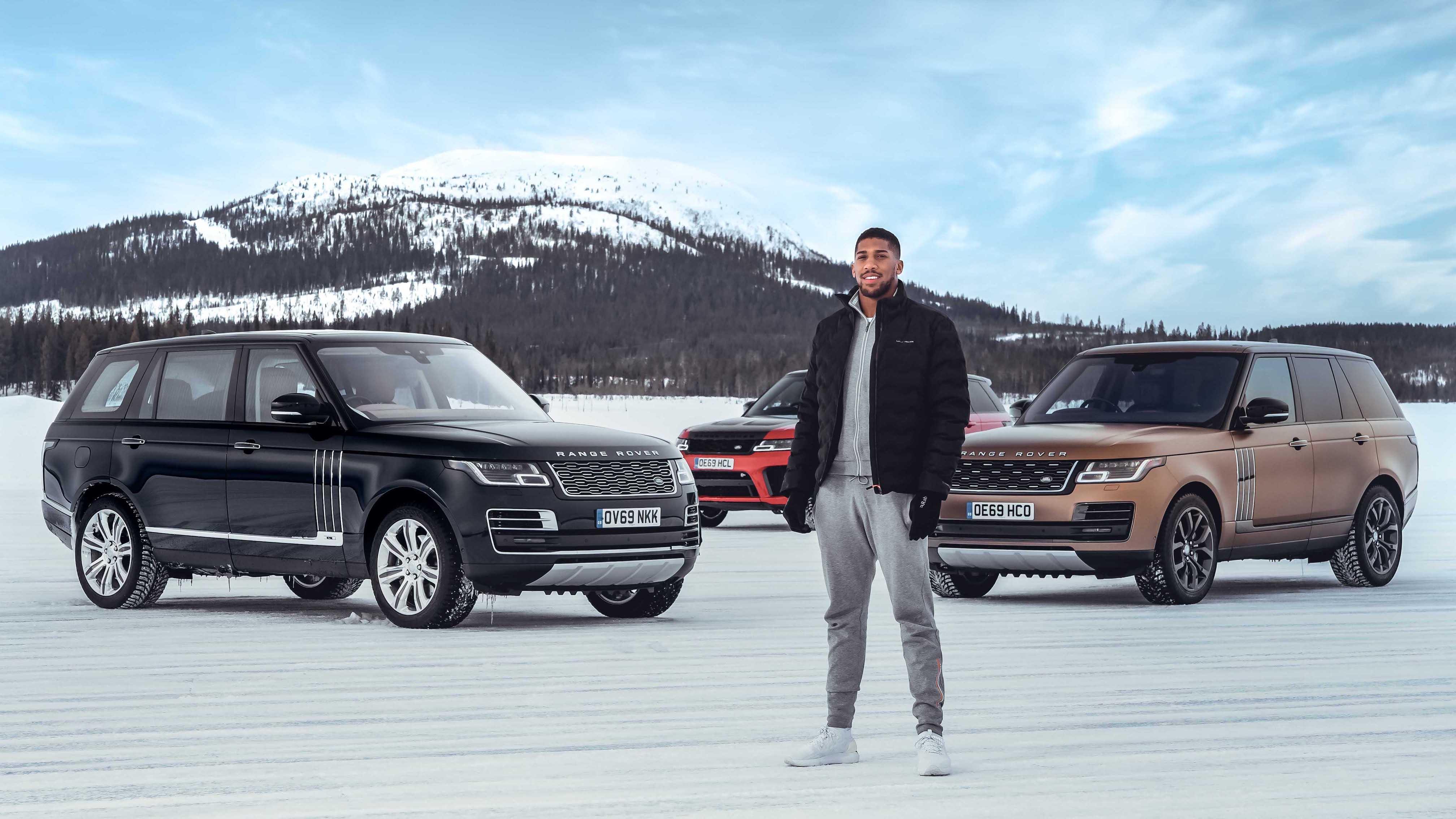 【影】Land Rover 邀請世界重量級拳王 Anthony Joshua 挑戰極地駕馭