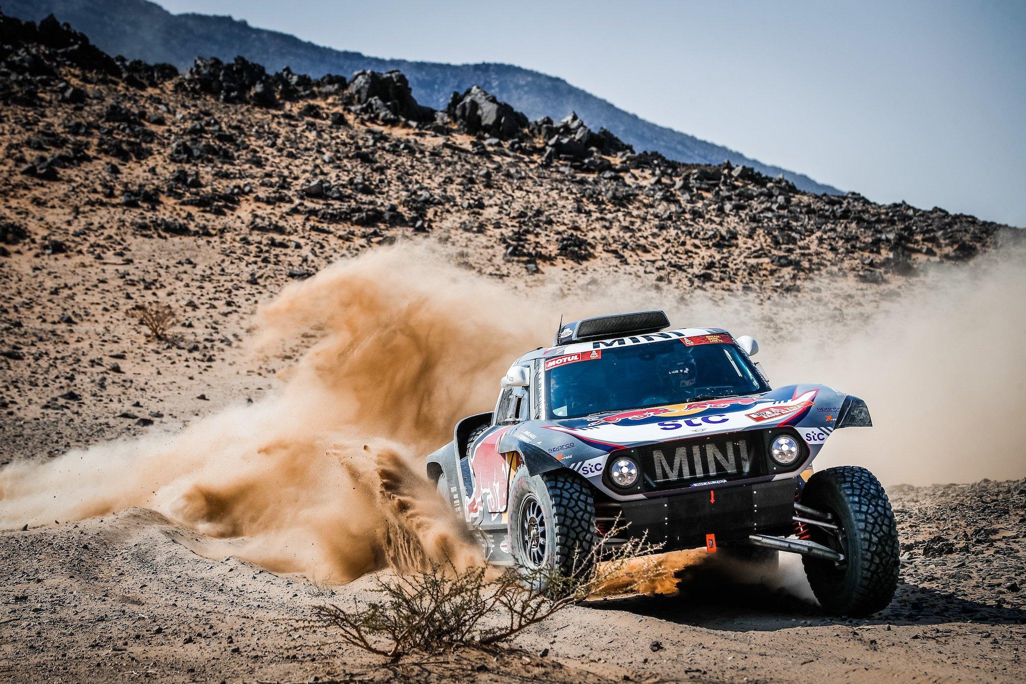 2021 MINI 勇奪史上第六座達卡拉力賽冠軍榮耀。