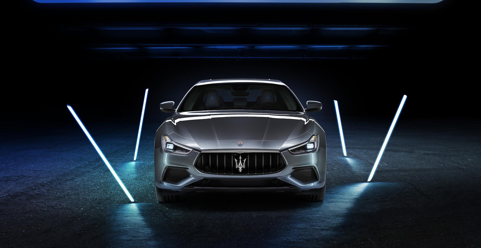 海神觸電序章,Maserati Ghibli Hybrid 正式亮相