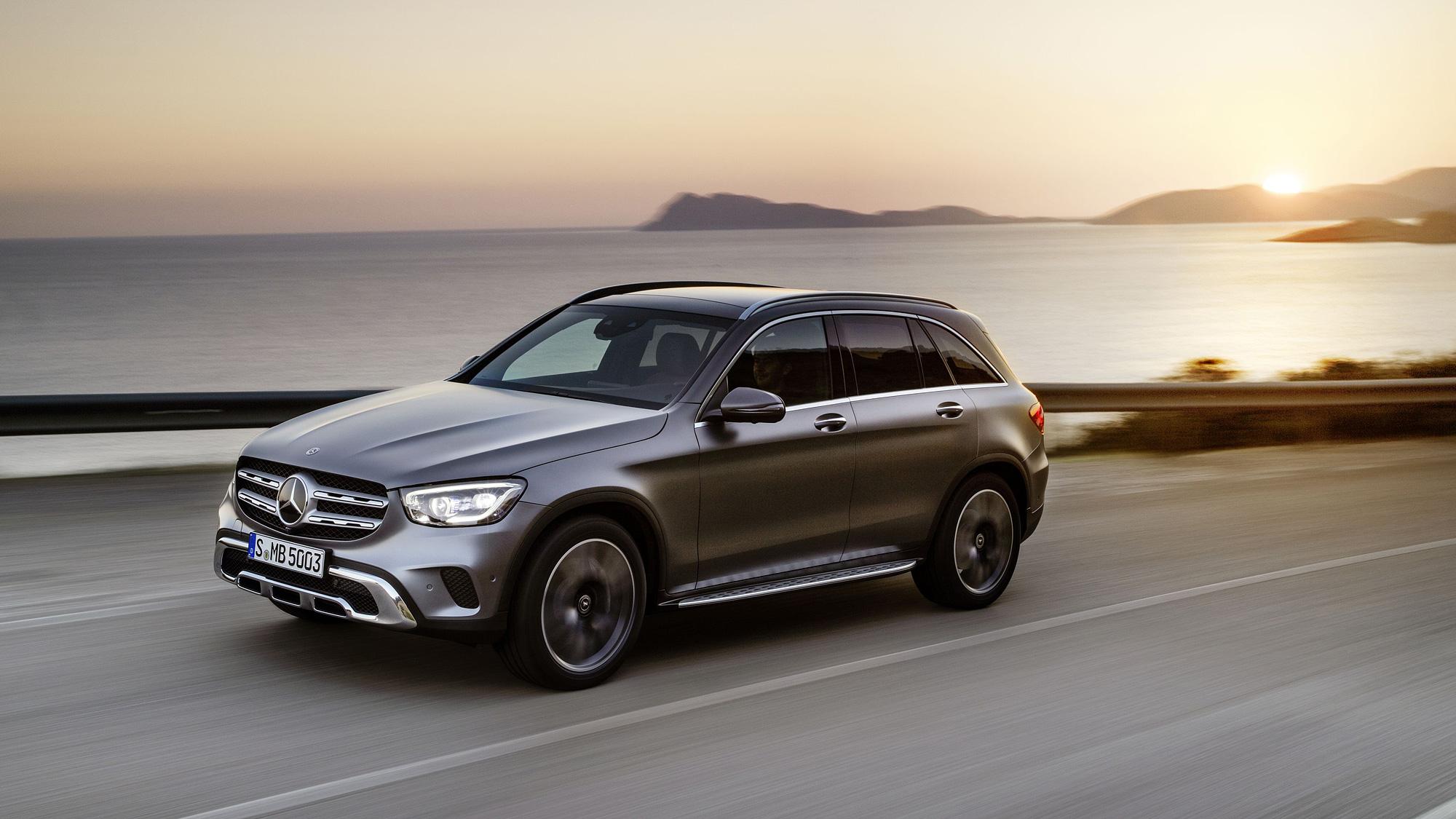 小改 Mercedes-Benz GLC 234 萬元起上市, GLC Coupé 251 萬元起同步推出