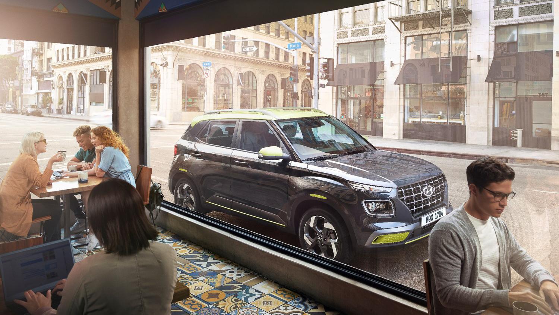 Hyundai 小休旅 Venue 9月上市!67.9 萬預接單起跑