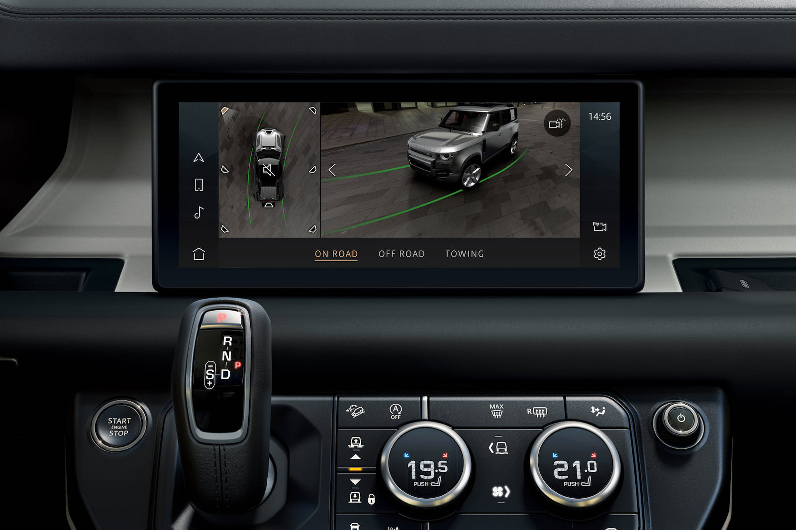360 度 3D 環景顯影系統,讓駕駛者輕鬆掌握車輛周圍的環境狀況。