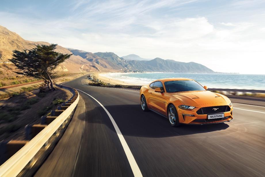 入主 2018 年式 Ford Mustang EcoBoost® Premium 即贈市價最高達 20 萬元之勞力士名錶,還可再抽勞力士名錶。