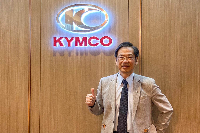 光陽機車執行長柯俊斌期望疫情盡快結束,讓旗下經銷商與民眾能恢復正常生活。