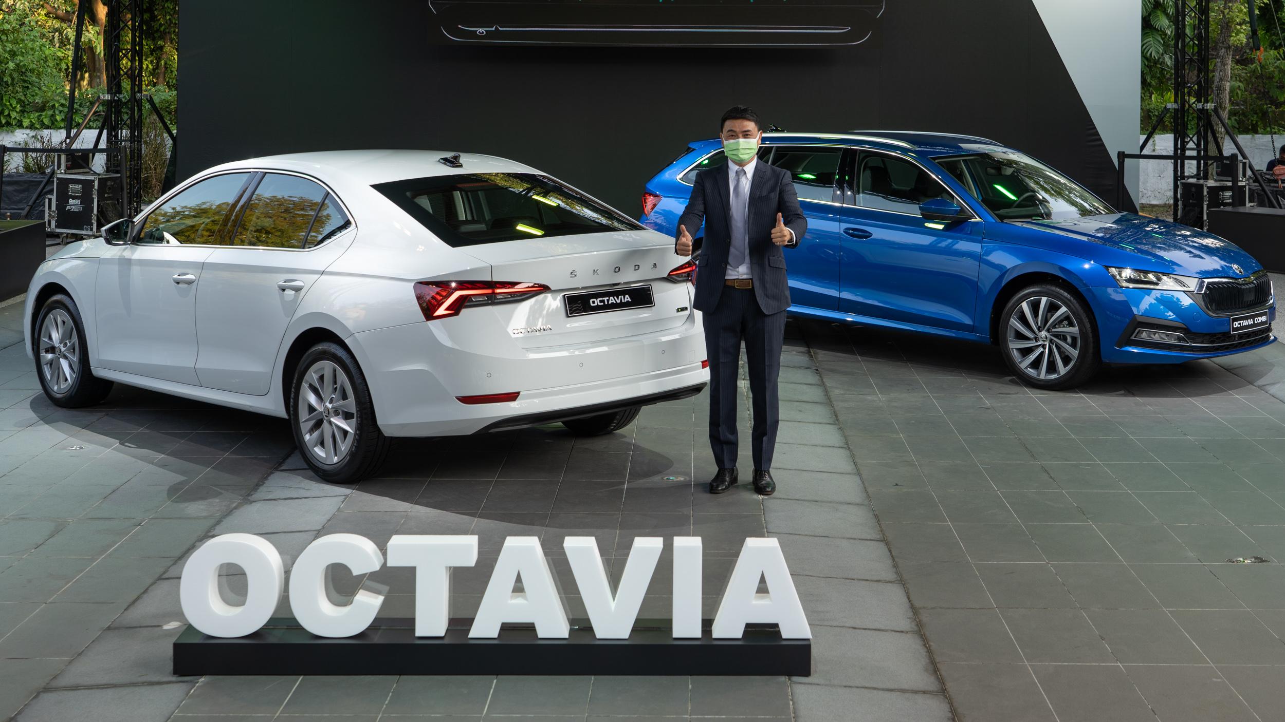 ▲ 起價殺入百萬內!Škoda 全新世代 Octavia 斜背/旅行車同登場