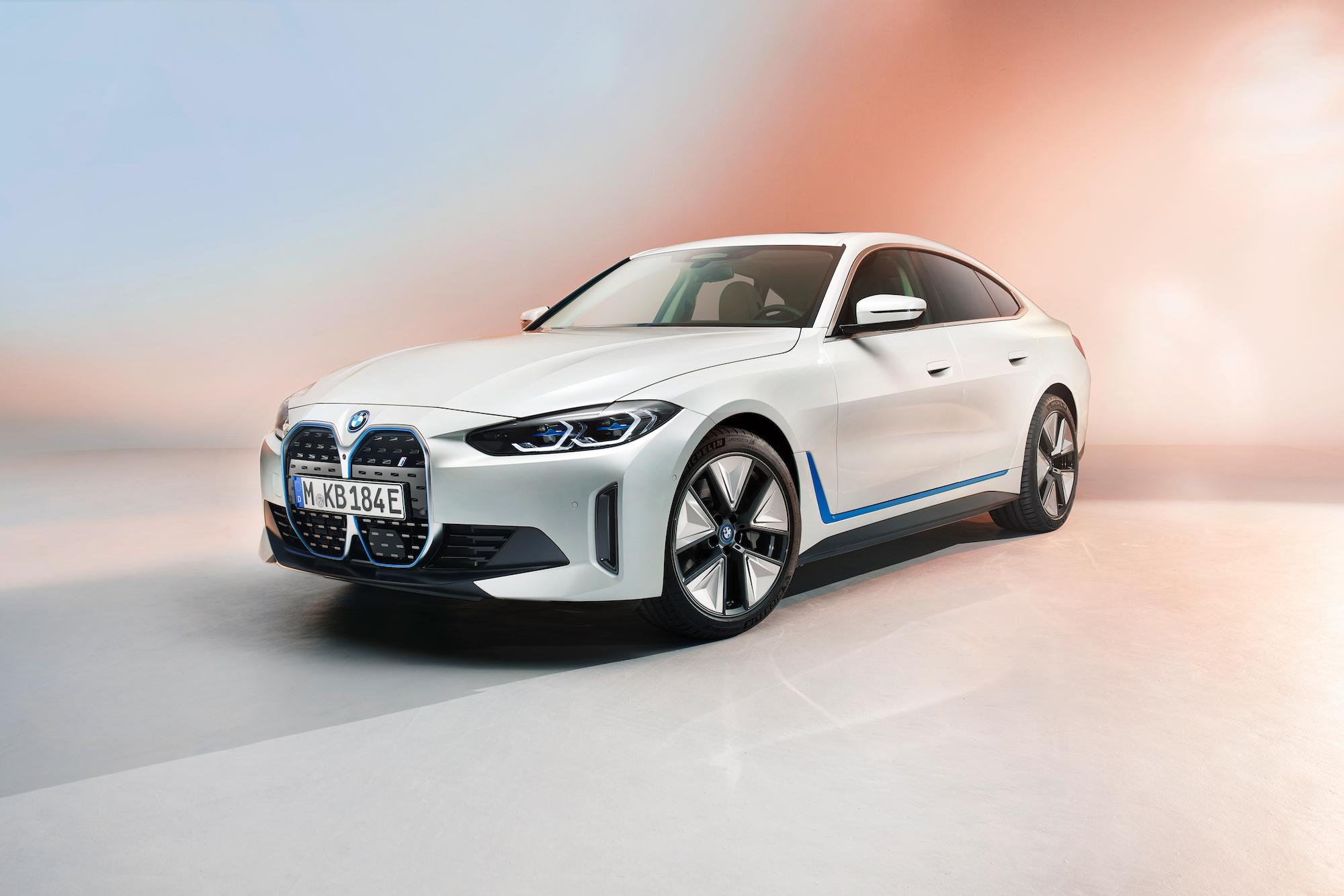 BMW i4 確定 2021 年正式發表。