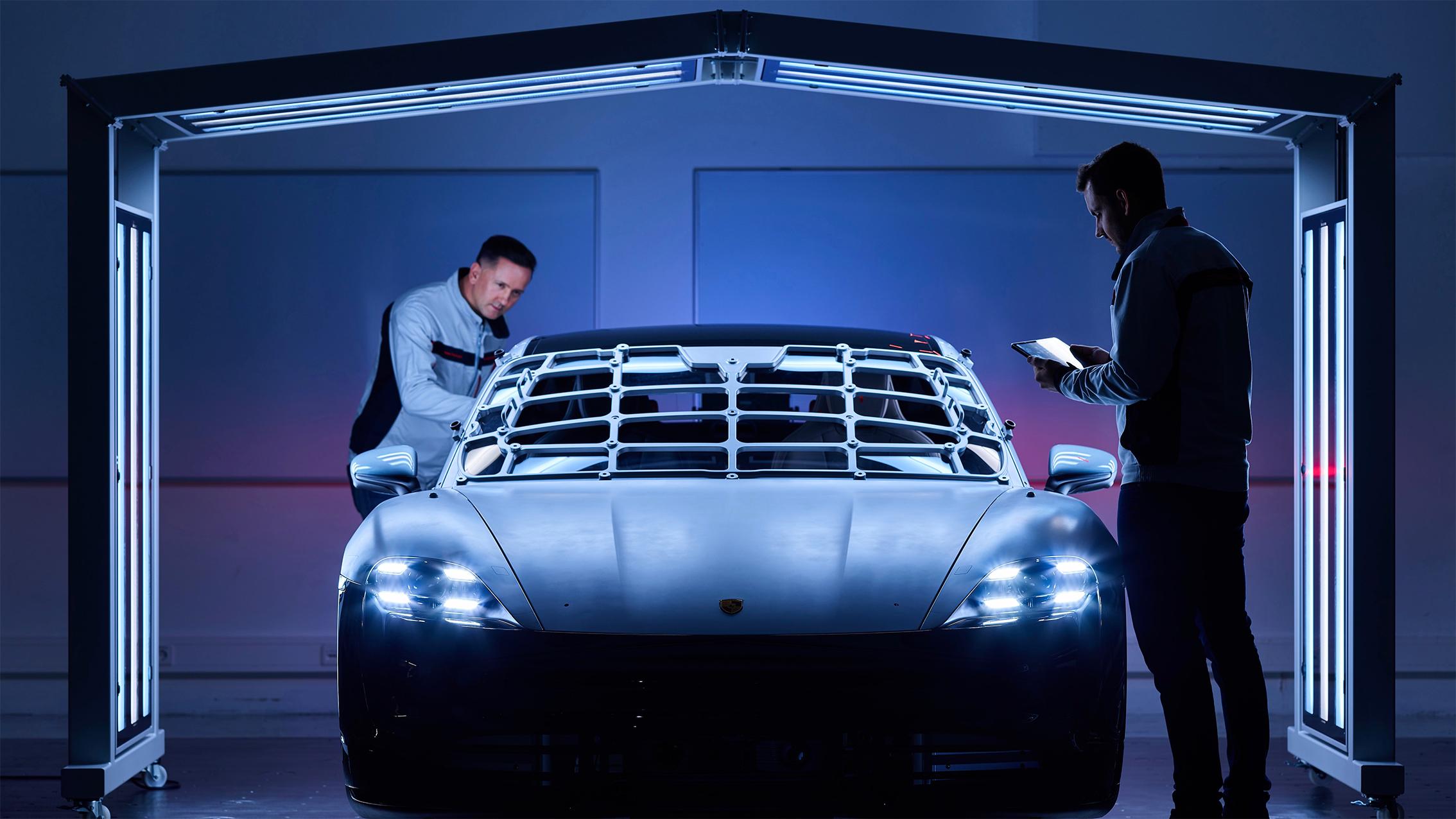 Porsche「零衝擊工廠」從 Taycan 開始