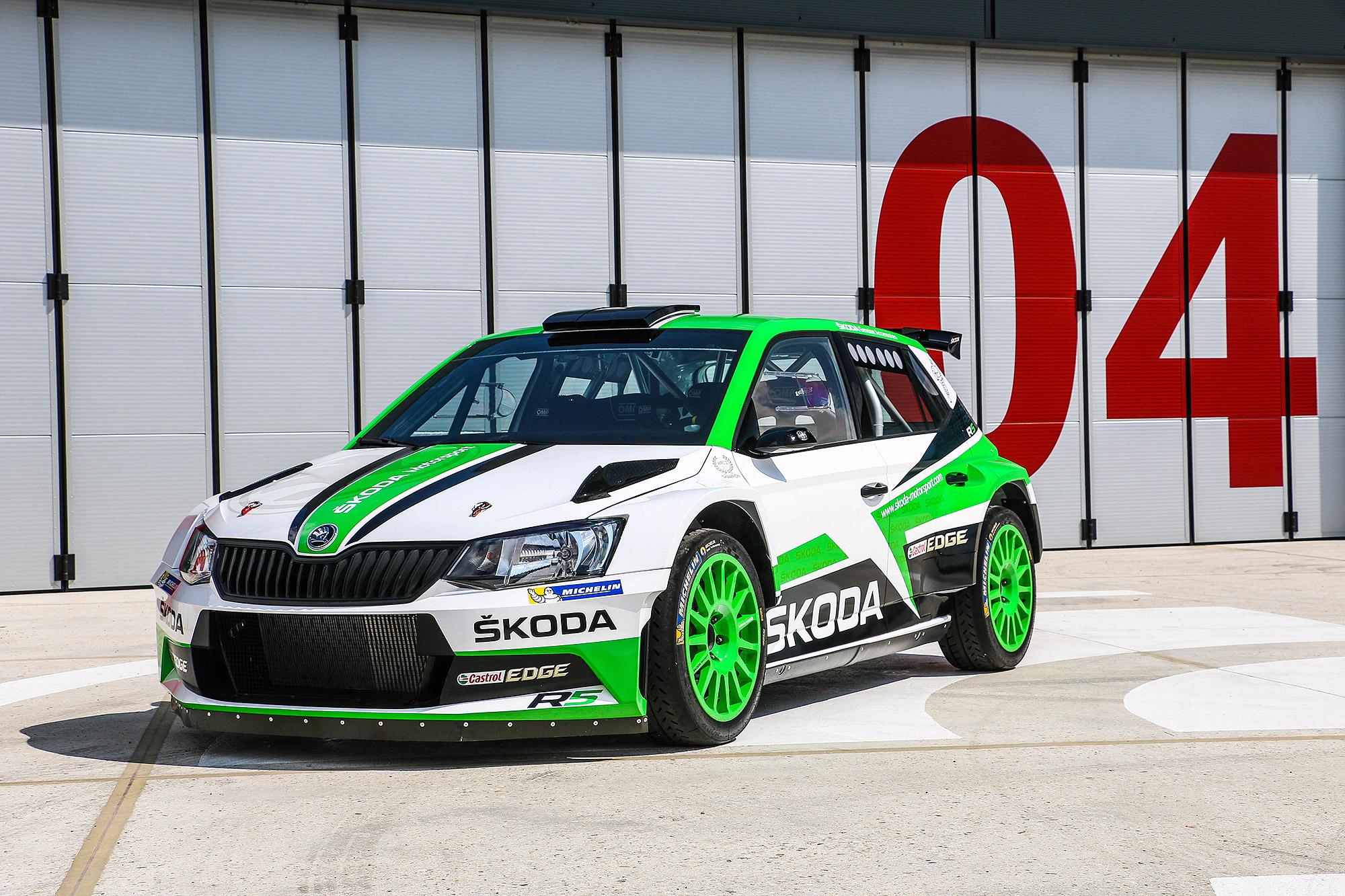 WRC-2 冠軍賽車 Fabia R5 將登台演出。