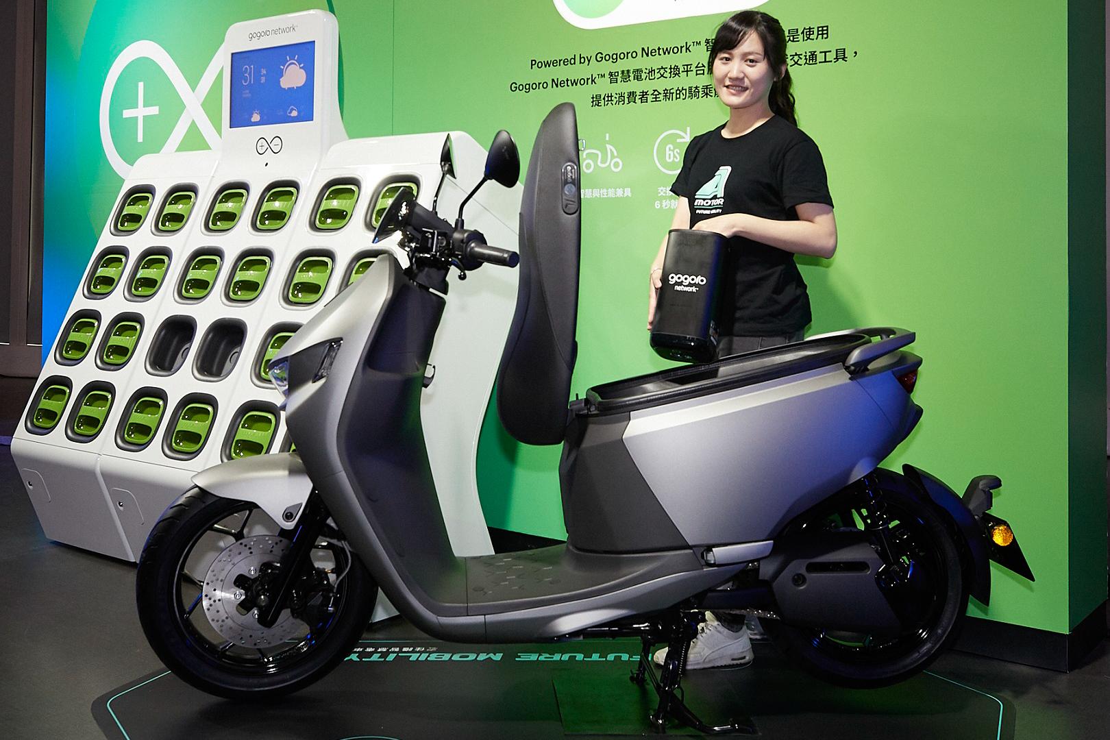 全新智慧電車 Ai-1 Sport 同樣立基於 Gogoro Network™ 智慧電池交換平台。