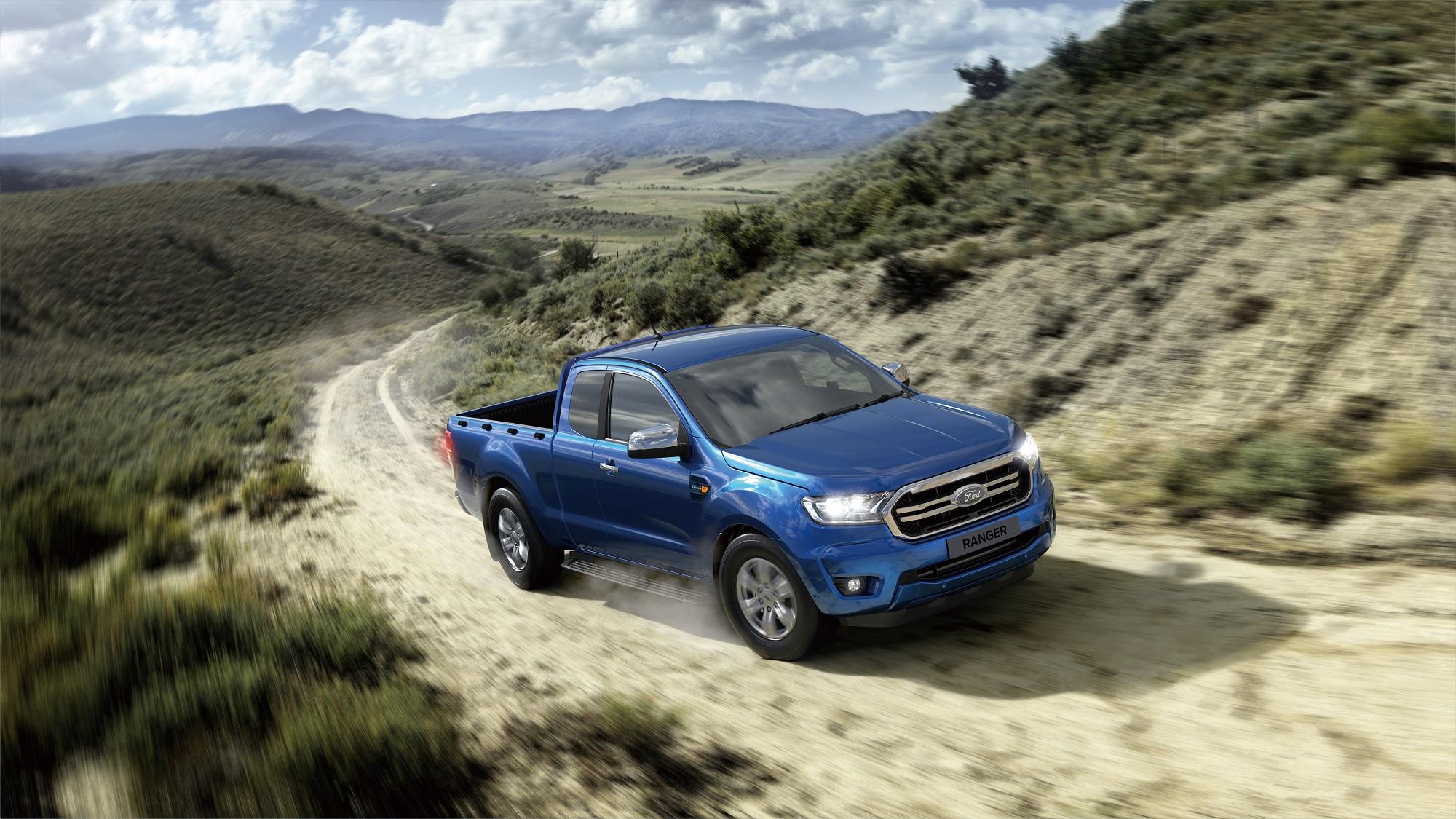 21 年式 Ford Ranger 職人型舊換新優惠價 99.8 萬。