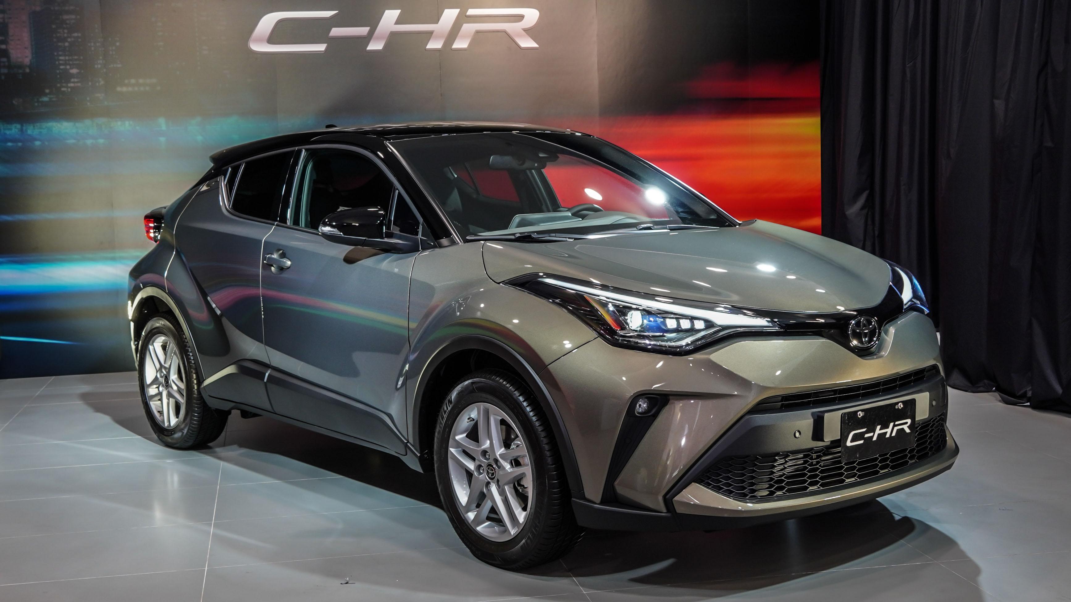 標配 ACC,小改款 Toyota C-HR 89.5 萬起上市