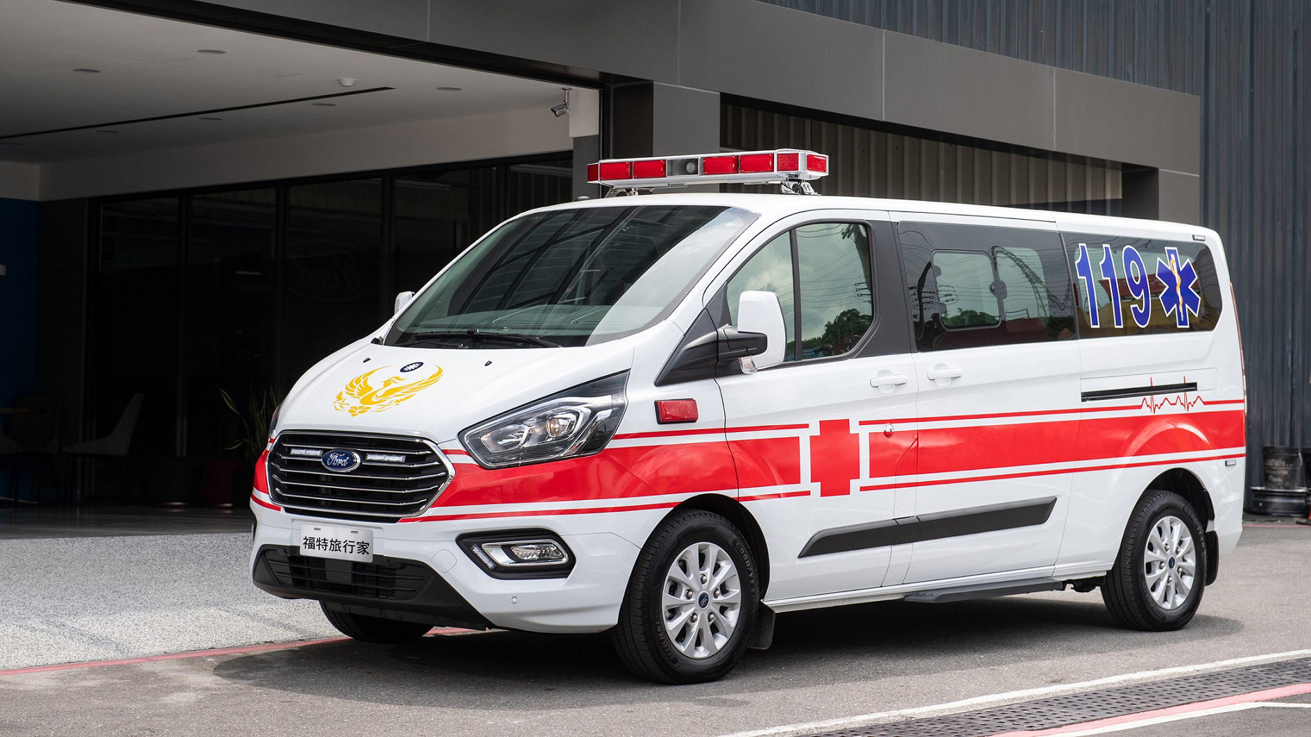 Ford Tourneo Custom 投身救護車市場,以 NCAP 五星安全完成救人使命