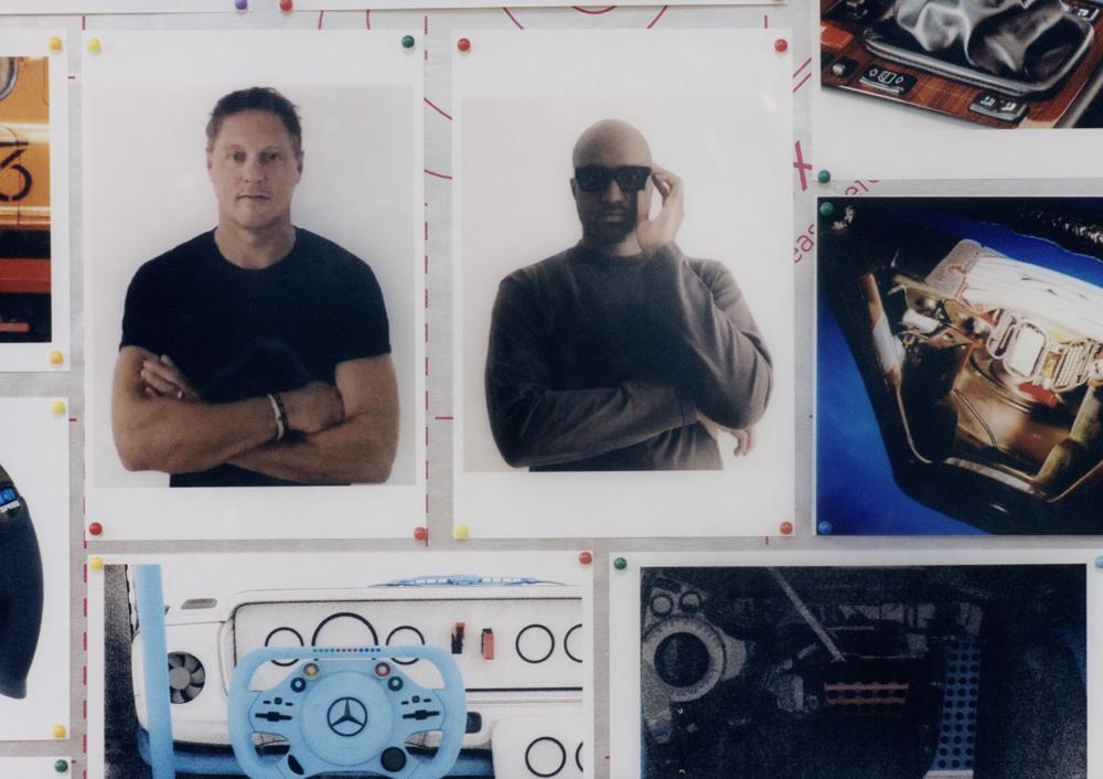 Mercedes-Benz 首席設計長 Gorden Wagener 和路易威登男裝藝術總監暨 Off-White™ 創辦人 Virgil Abloh。