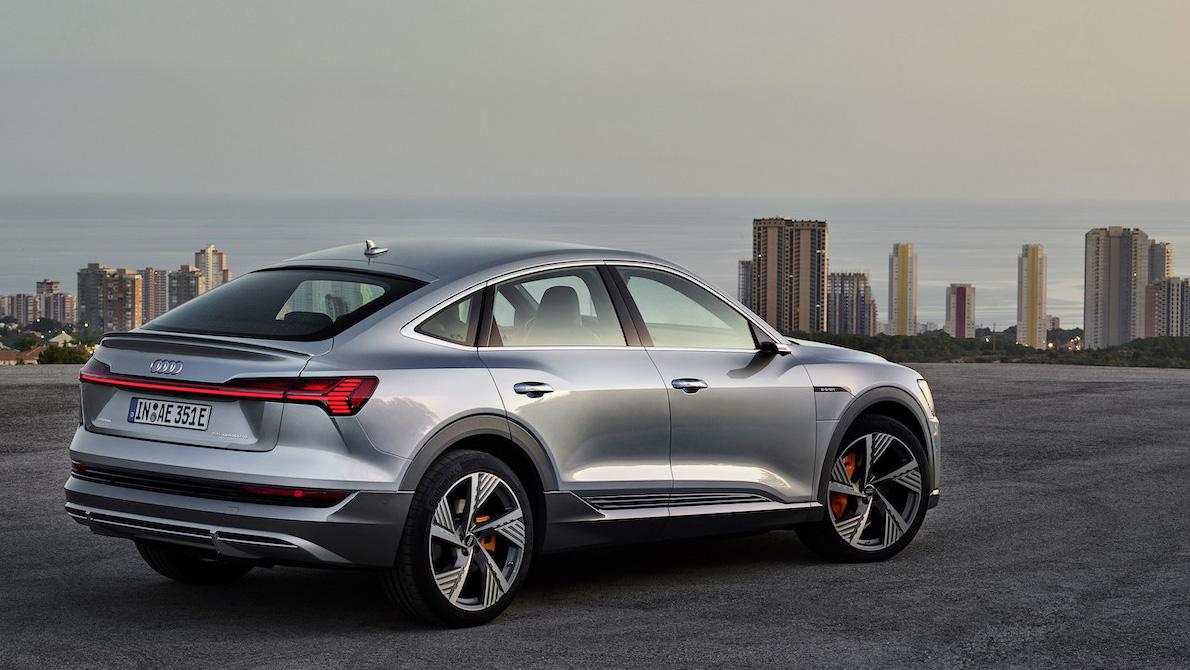 Audi e-tron Sportback。