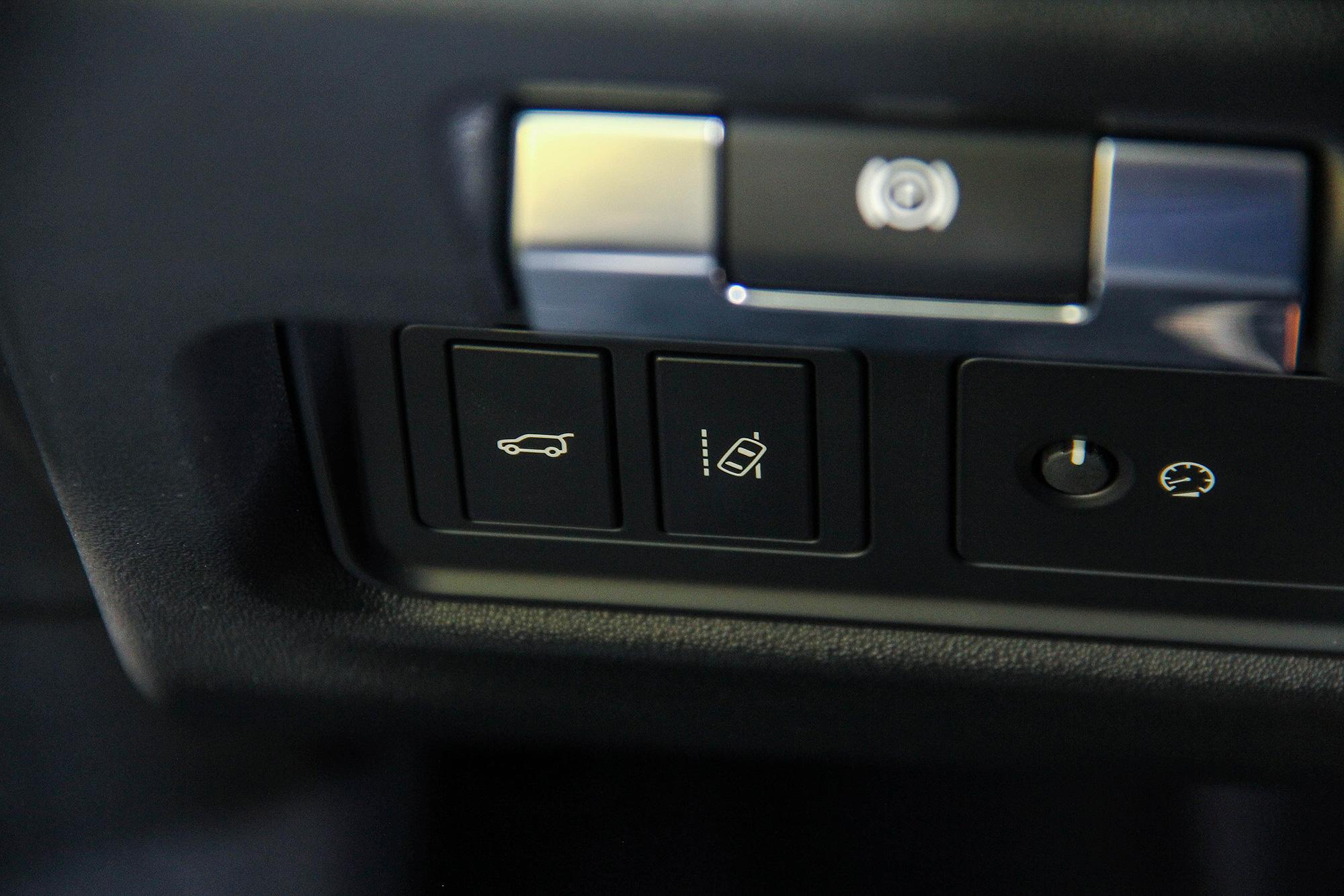 LKA 車道維持輔助系統為全車系標配。