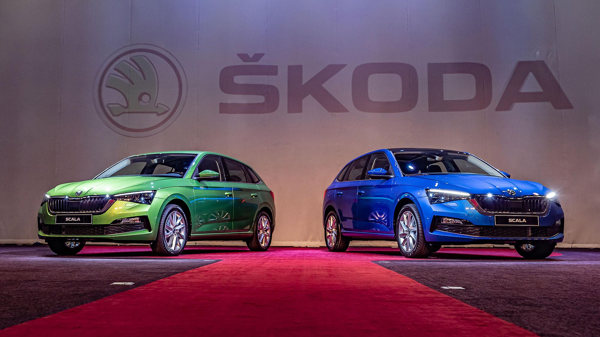 Škoda Scala 全面標配 9 氣囊與 ACC ,優惠價 83.9 萬元起首搭繁中介面上市