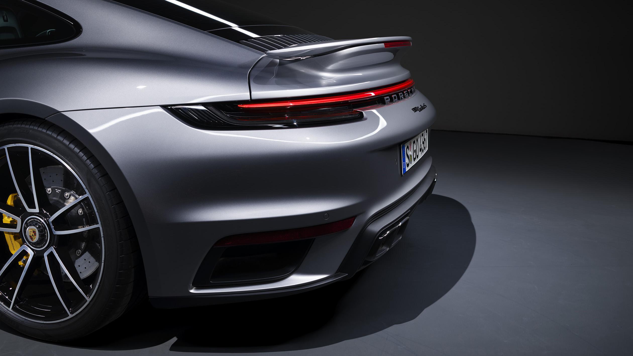 來瞧瞧 Porsche 911 Turbo S 的空氣力學黑科技