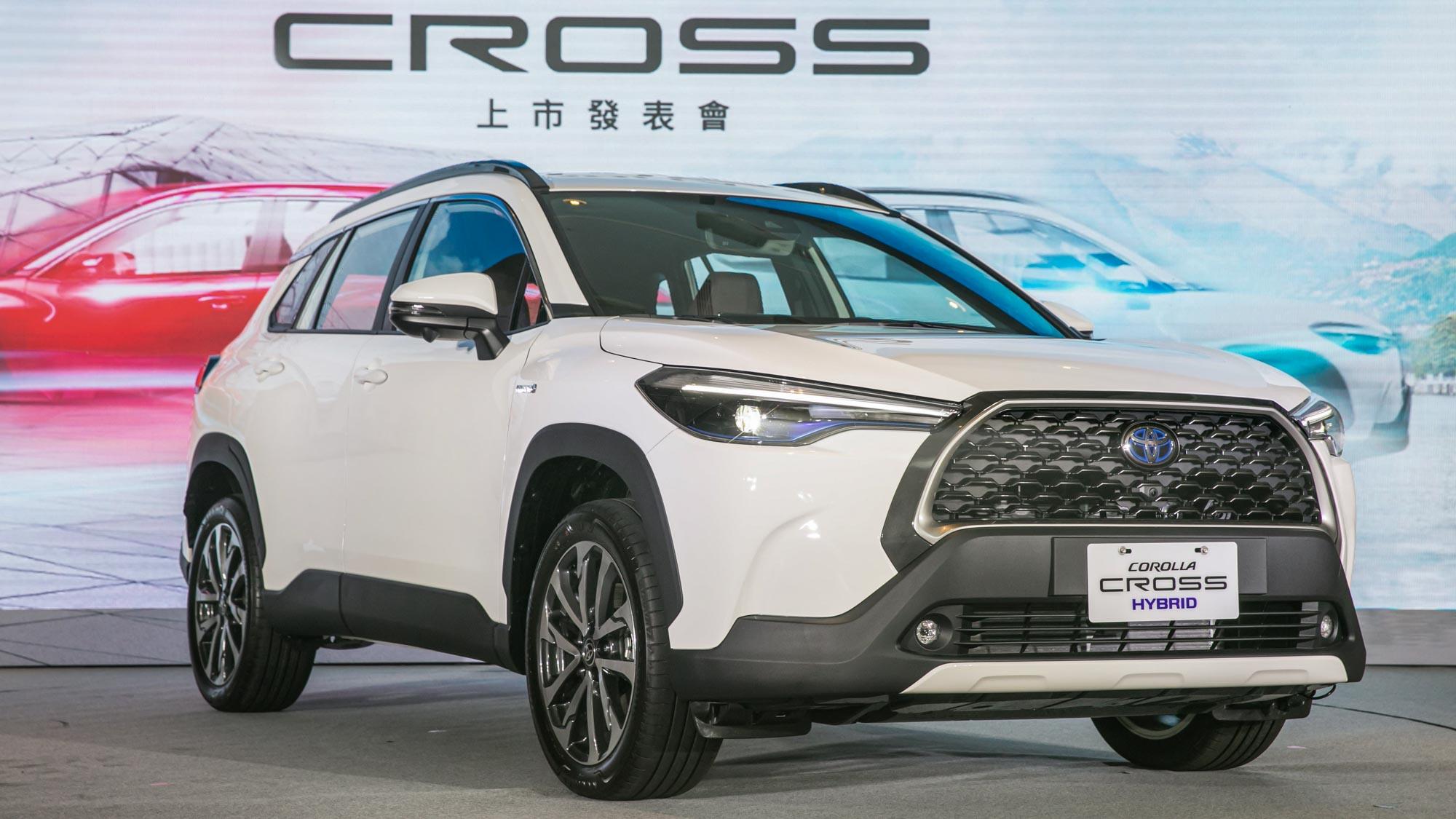 76.5 萬起!Toyota Corolla Cross 正式發表目標年銷四萬輛