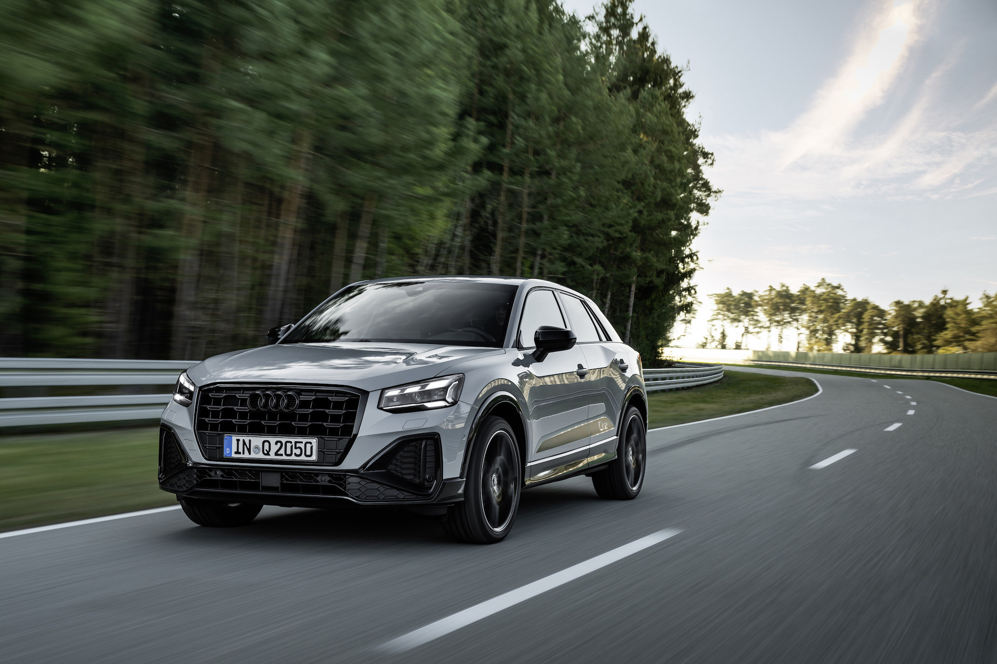 Audi Q2 35 TFSI Edition One。
