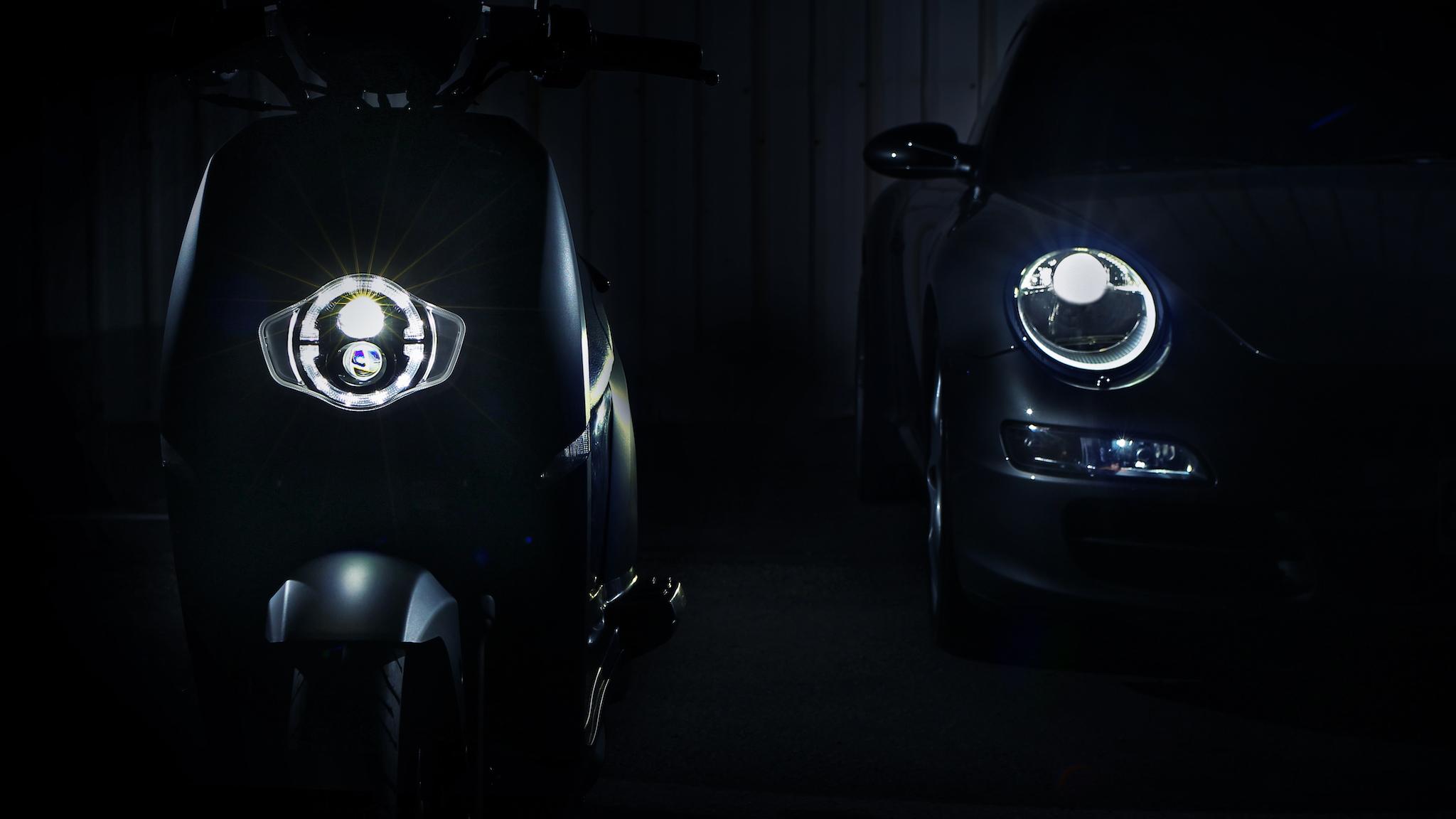eReady 智慧雙輪公布 LED 圓燈造型