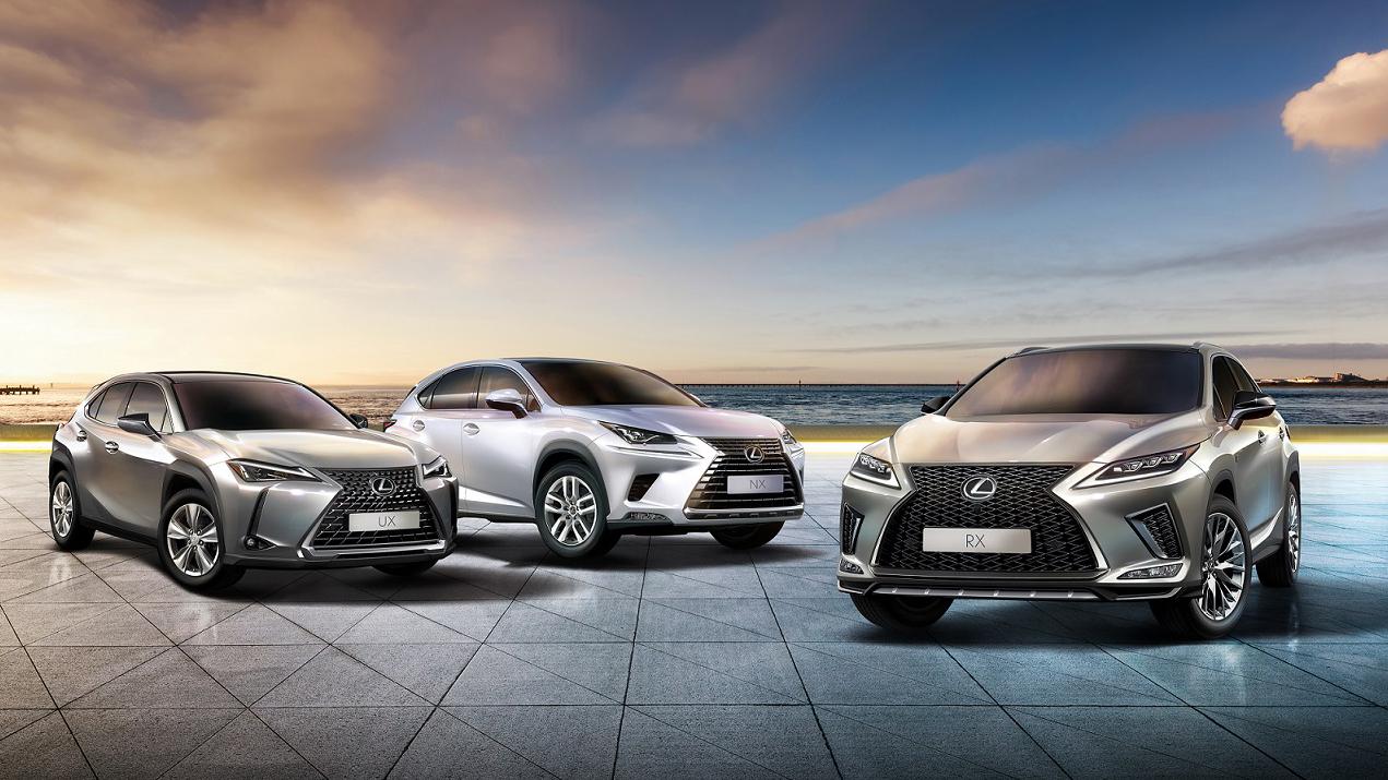 Lexus 年度掛牌突破 22,600 台,再創歷史新高。
